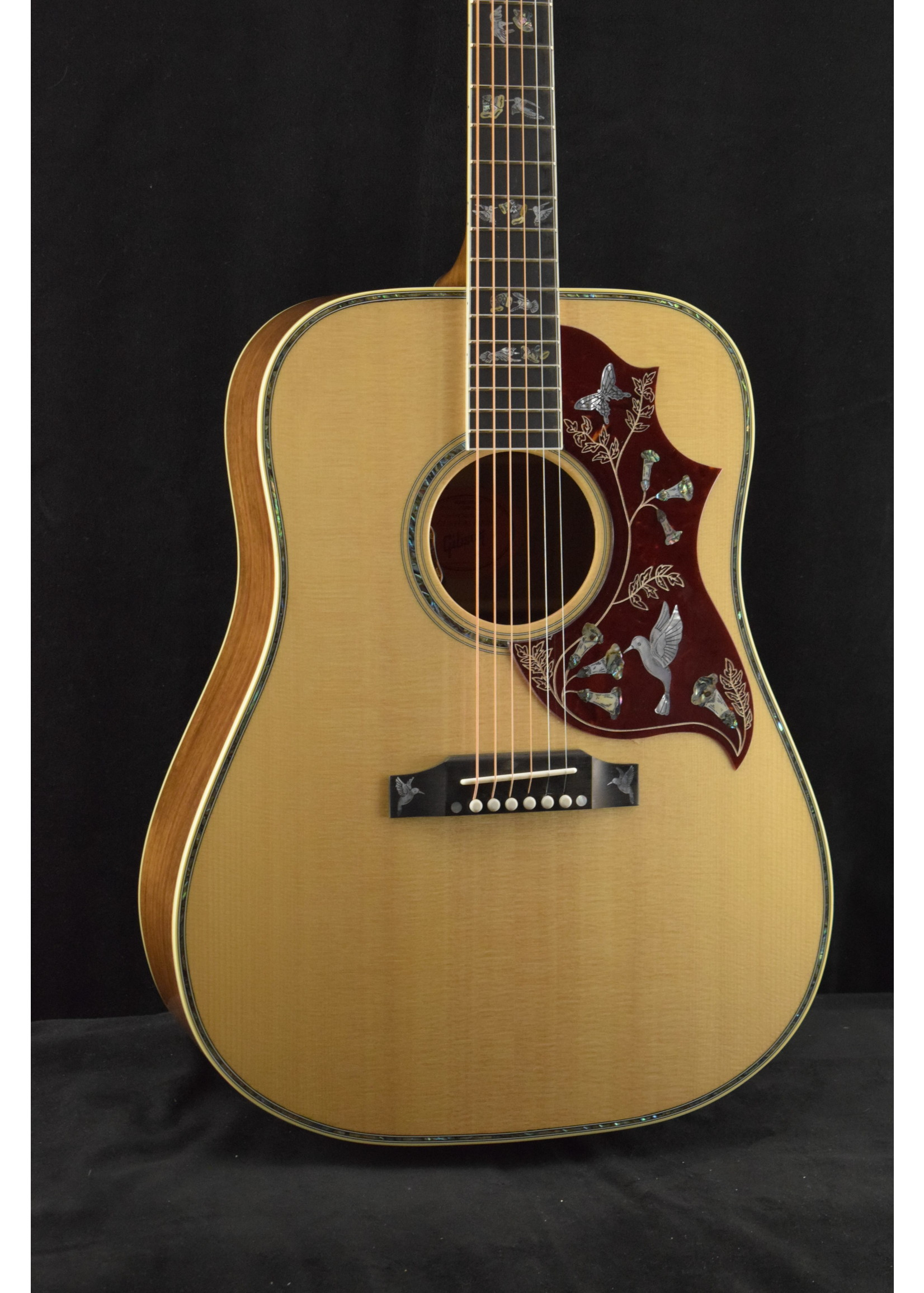 Gibson Gibson Hummingbird Custom Koa Antique Natural