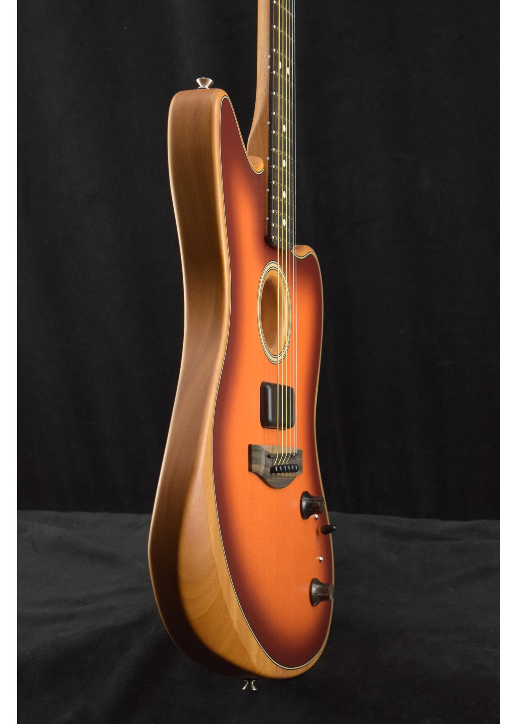 Fender Fender American Acoustasonic Jazzmaster Ebony Fingerboard Tobacco Sunburst