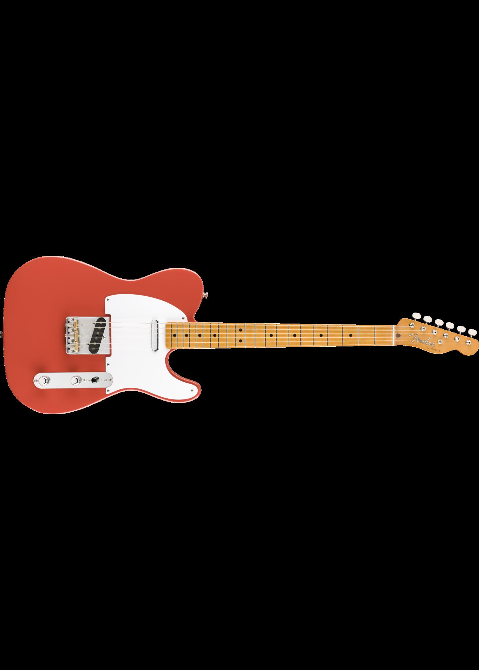 Fender Fender Vintera '50s Telecaster MN Maple Neck Fiesta Red