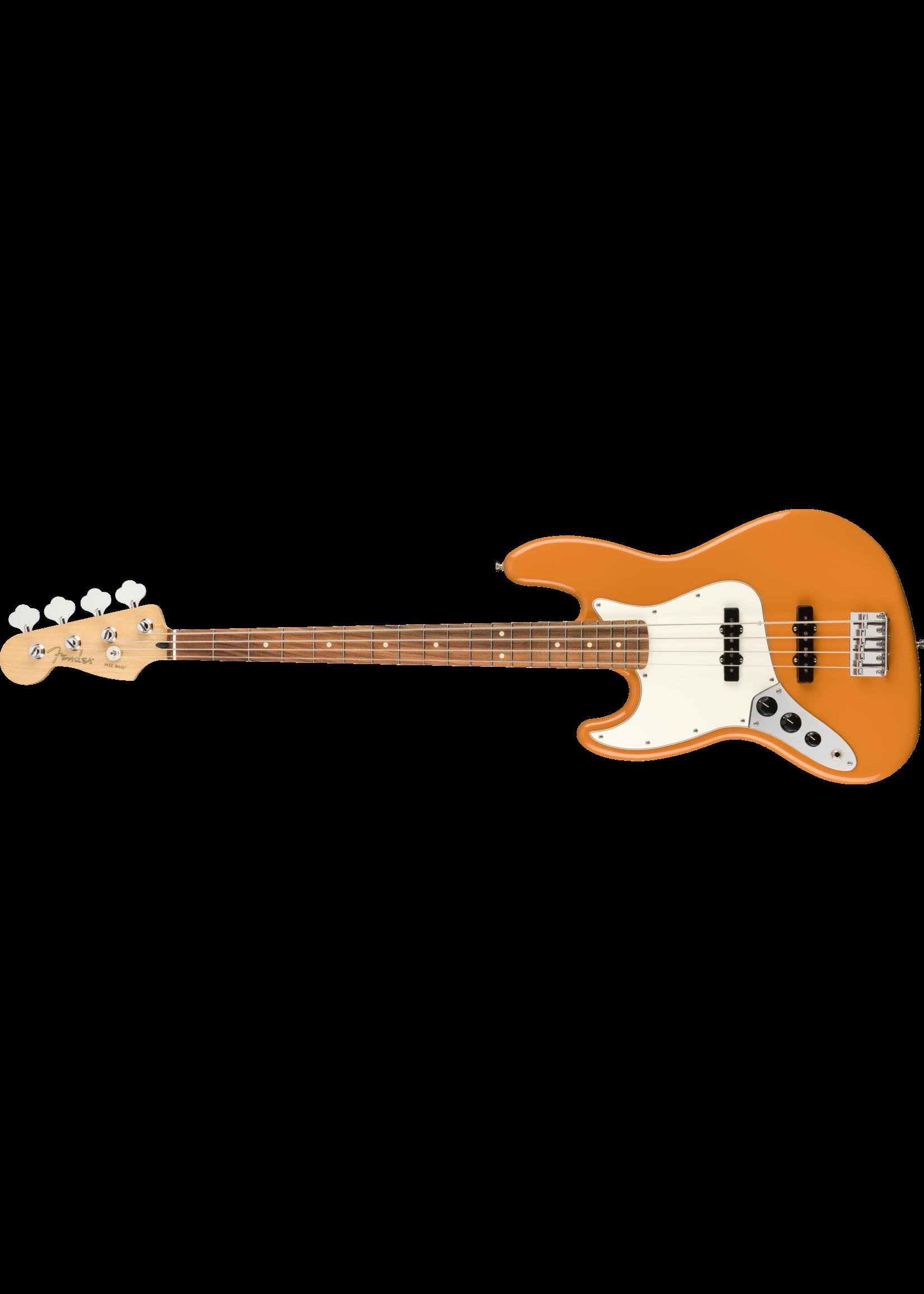 Fender Fender Player Jazz Bass® Left-Handed, Pau Ferro Fingerboard Capri Orange