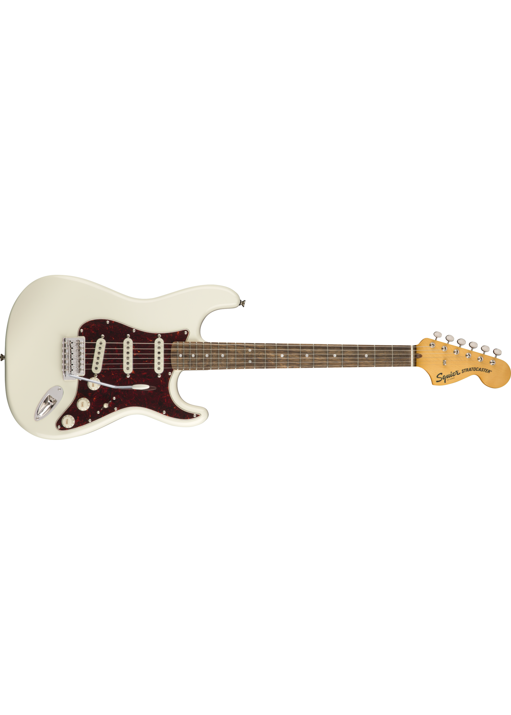 Squier Squier Class Vibe '70s Stratocaster LRL Laurel Fingerboard Olympic White