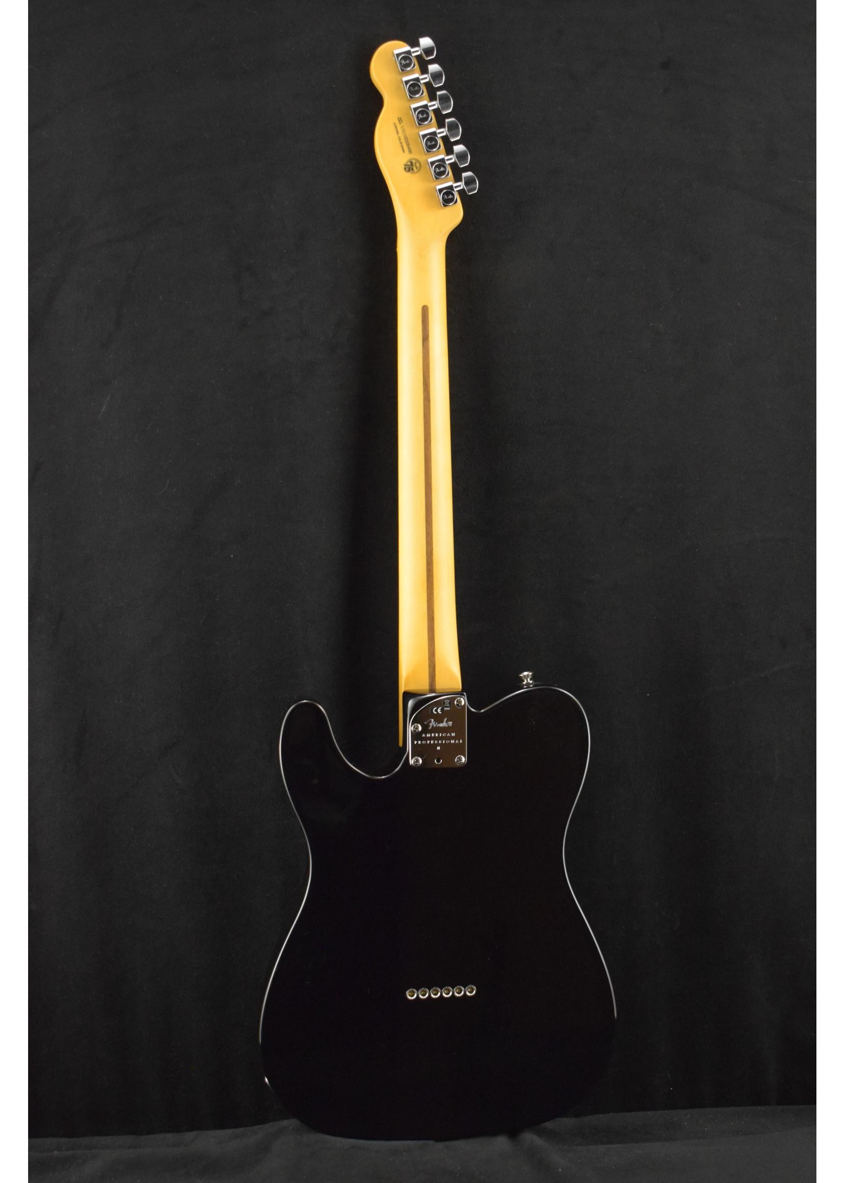 Fender Fender American Professional II Telecaster Black Maple Fretboard