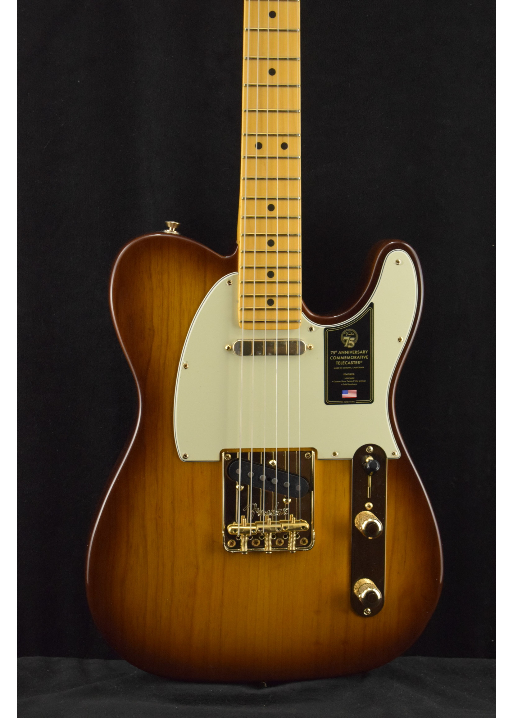 Fender Fender 75th Anniversary Commemorative Telecaster 2-Color Bourbon Burst