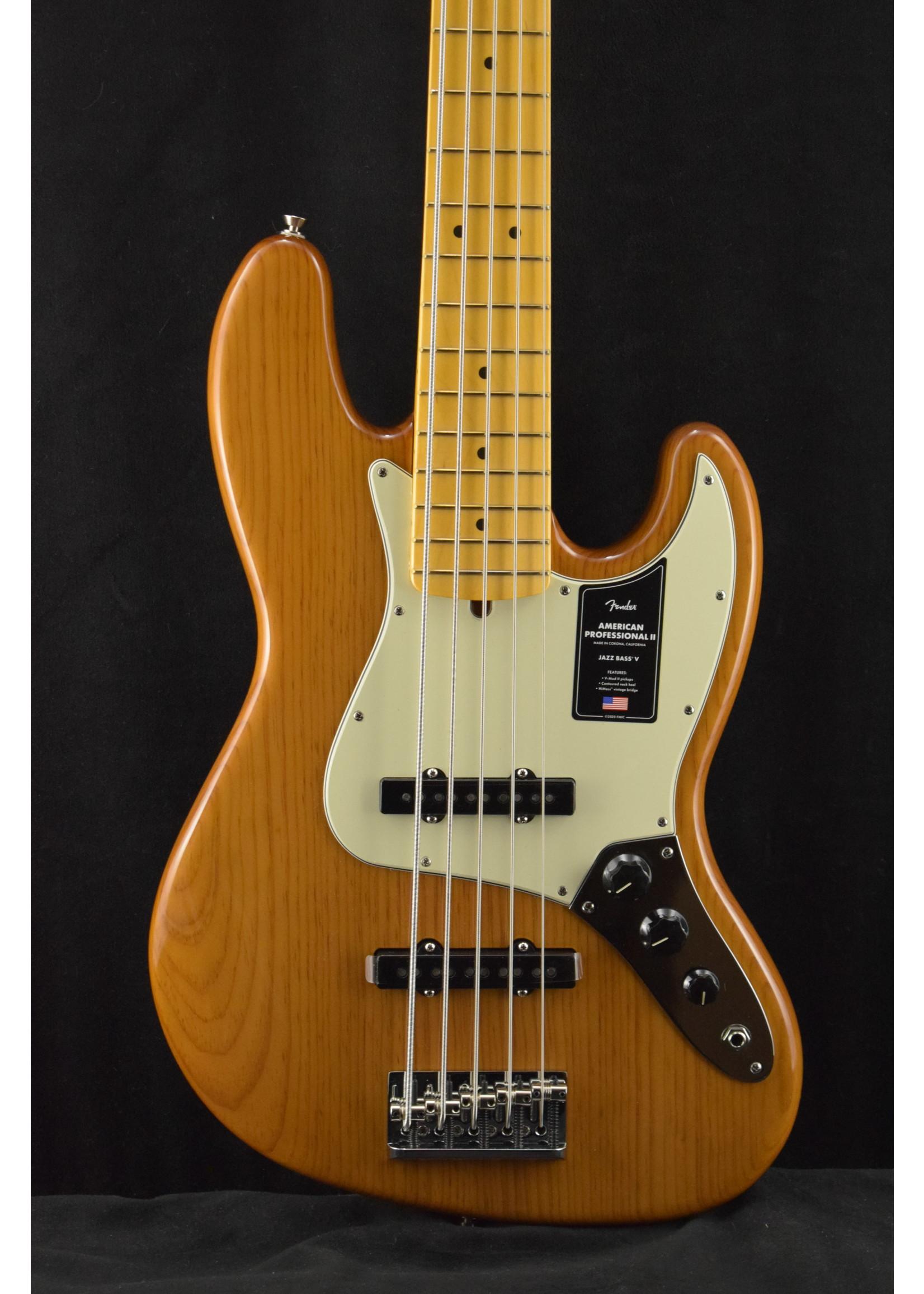 Fender Fender American Professional II Jazz Bass V Roasted Pine Maple Fretboard