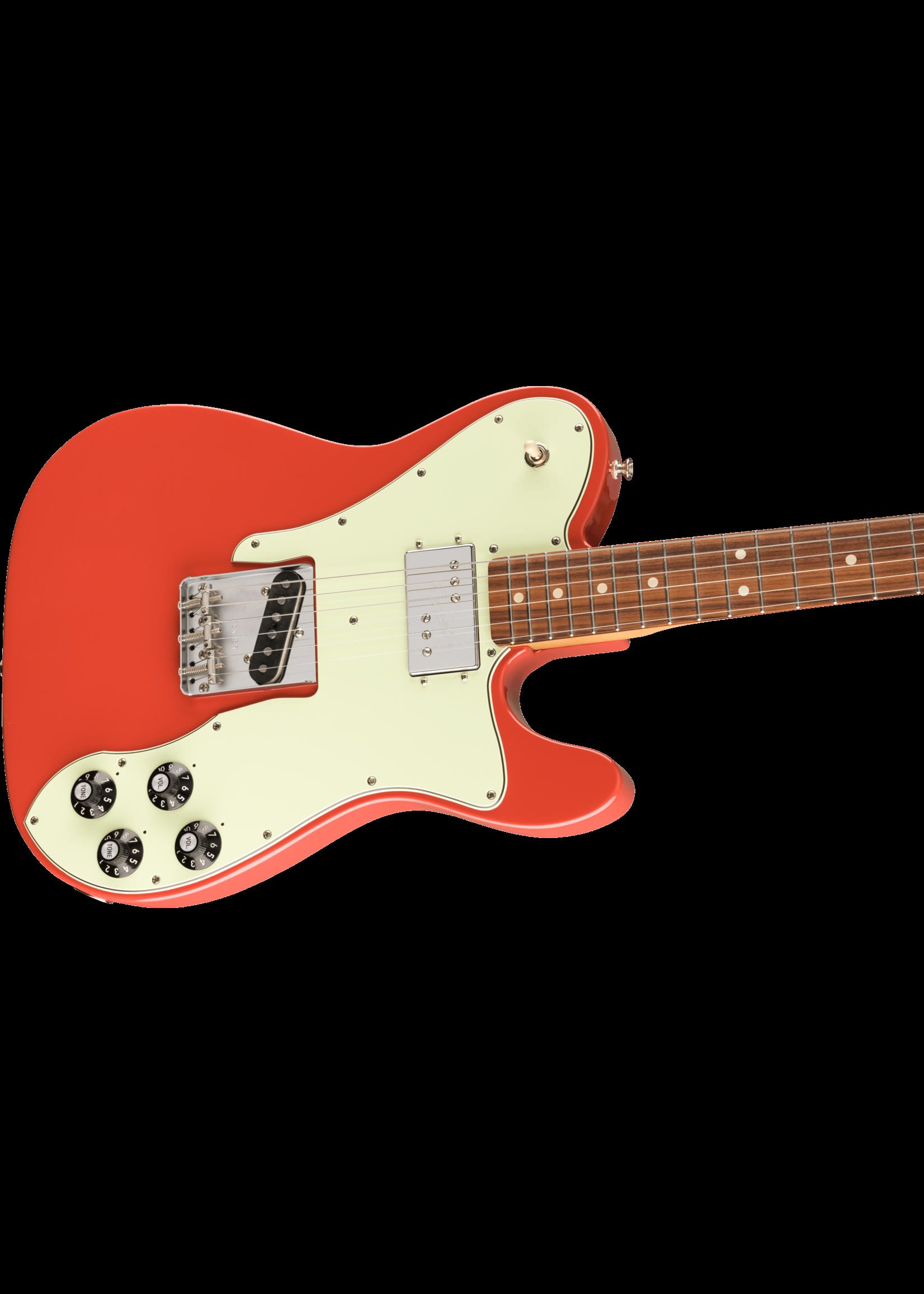 Fender Fender Vintera '70s Telecaster Custom PF 2021 Fiesta Red