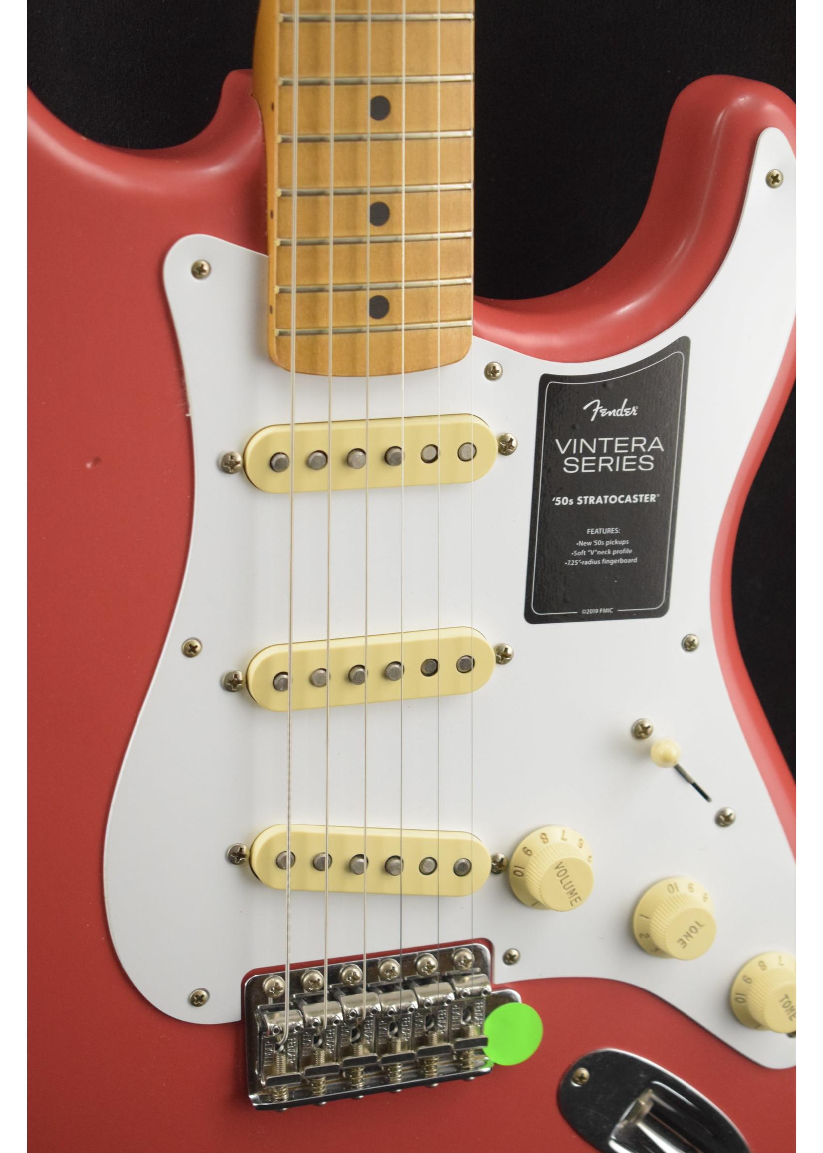Fender Fender Vintera Road Worn '50s Stratocaster Fiesta Red