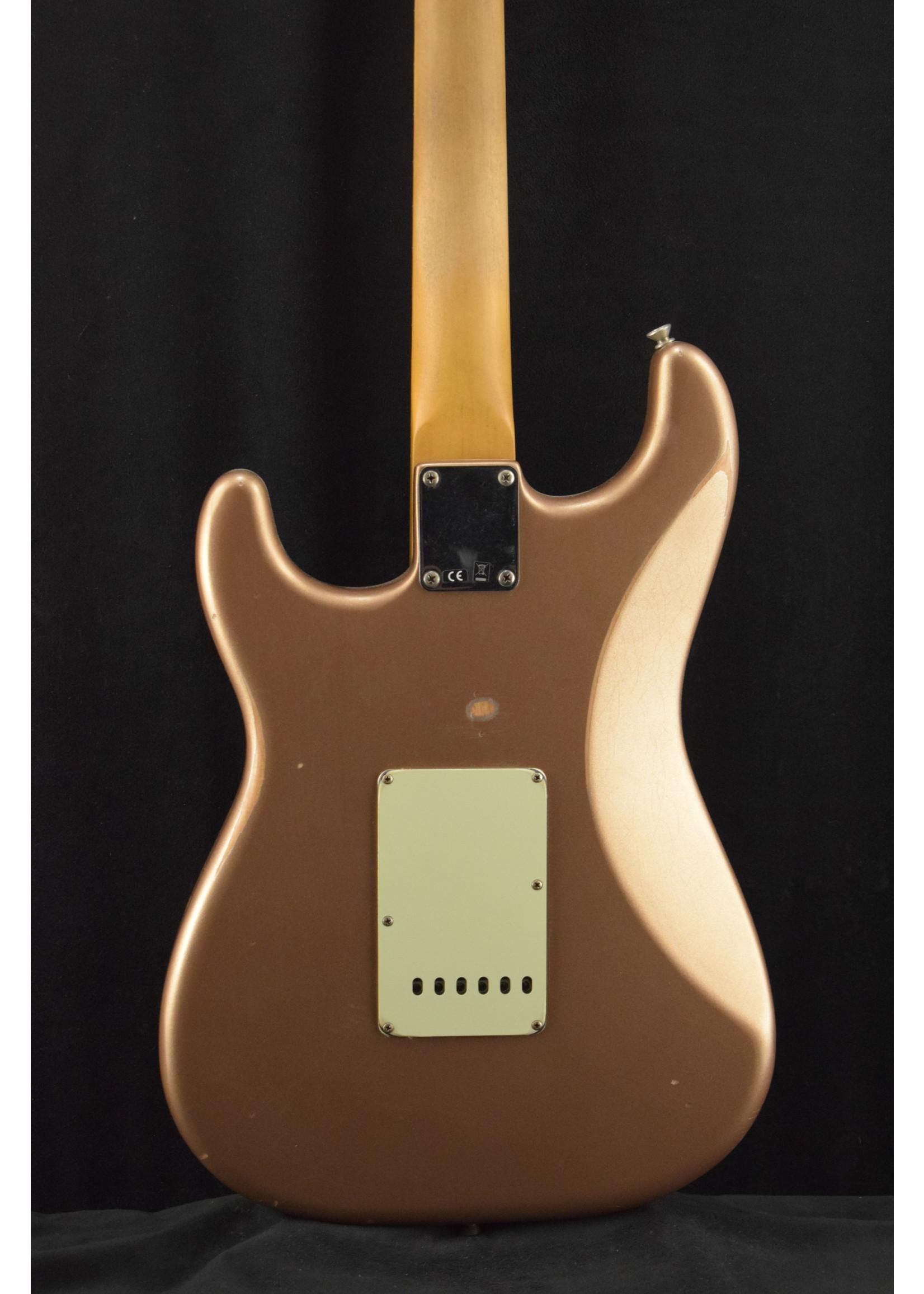 Fender Fender Vintera Road Worn '60s Stratocaster Firemist Gold