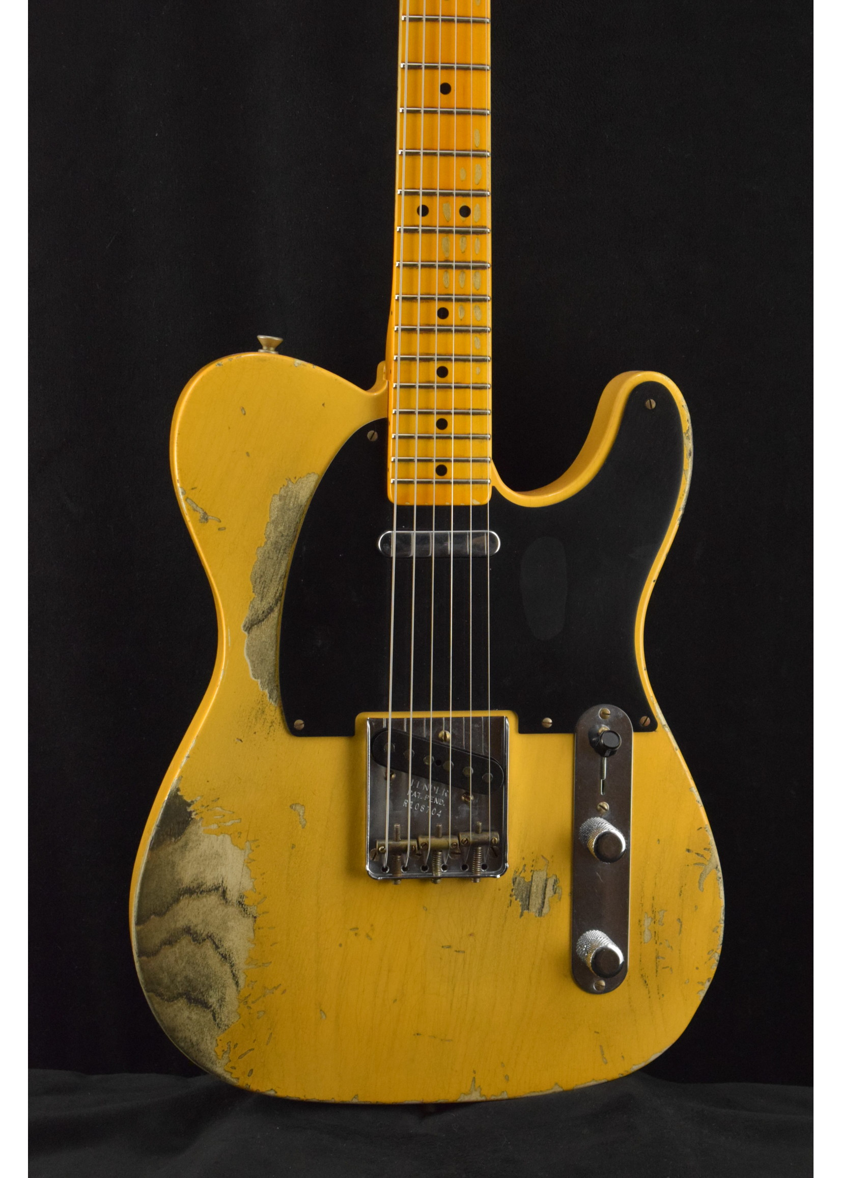 Fender Fender Custom ShopLimited Edition 70th Anniversary Broadcaster Heavy Relic Aged Nocaster Blonde