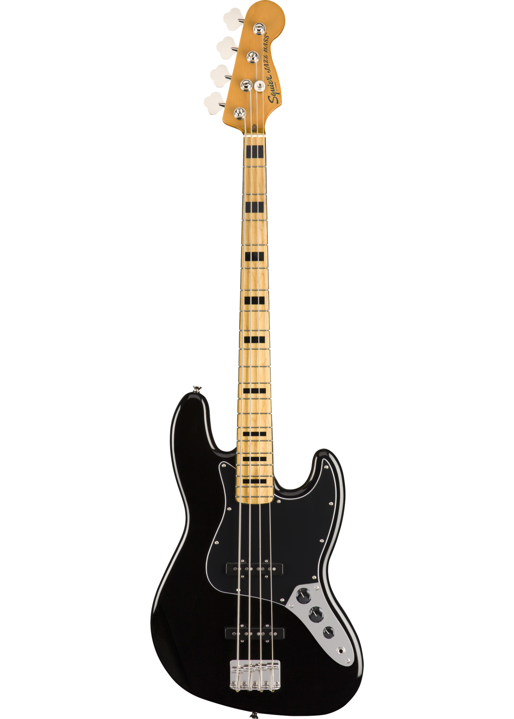 Squier Squier Classic Vibe '70s Jazz Bass with Maple Fretboard Black