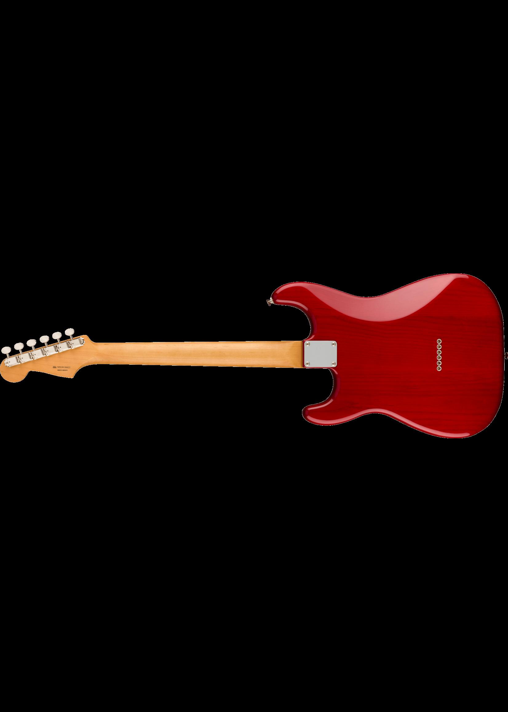 Fender Fender Noventa Stratocaster Crimson Red Transparent
