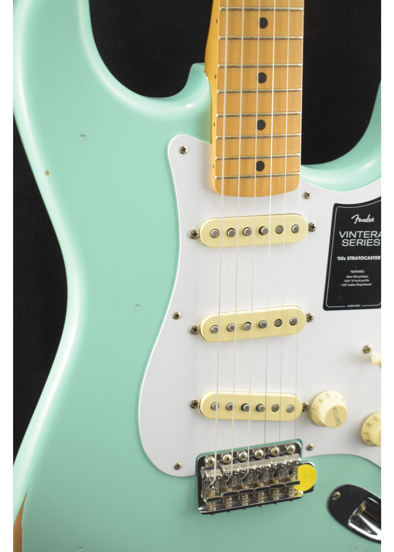 Fender Fender Vintera Road Worn '50s Stratocaster Surf Green