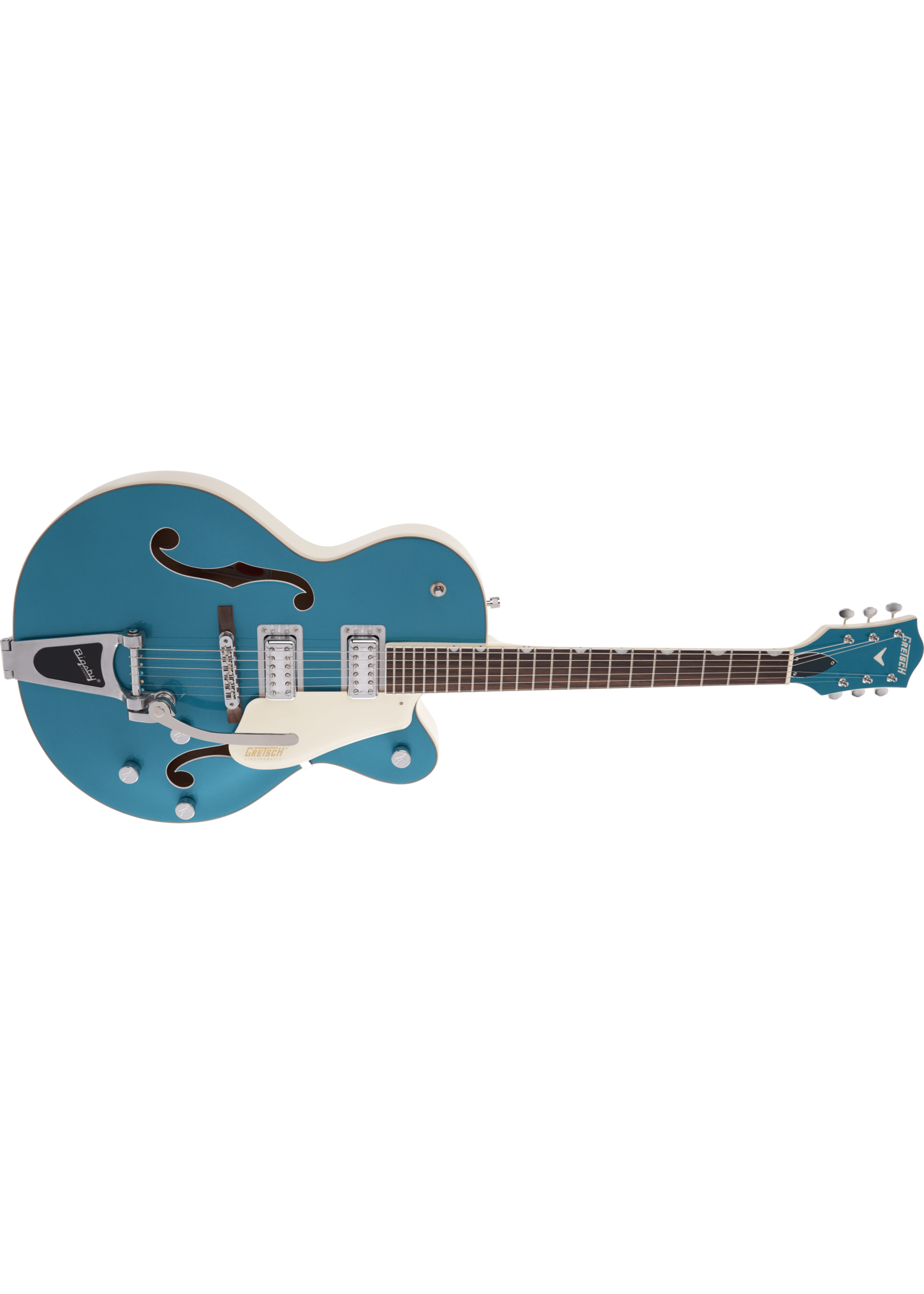 Gretsch Gretsch G5410T Electromatic Tri-Five Two Tone Ocean Turquoise/Vintage White