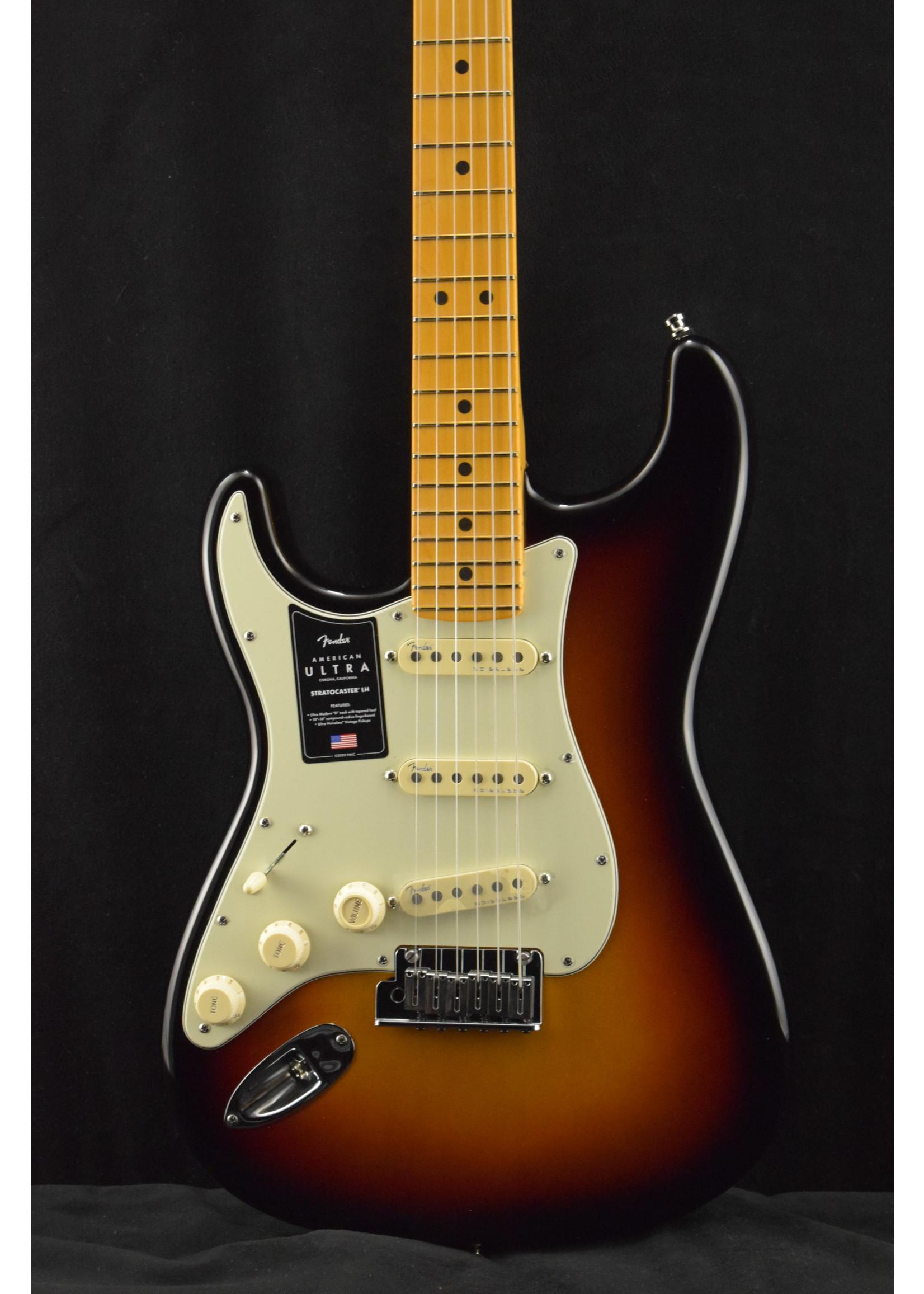 Fender Fender American Ultra Stratocaster Left-Handed with Maple Fretboard Ultraburst
