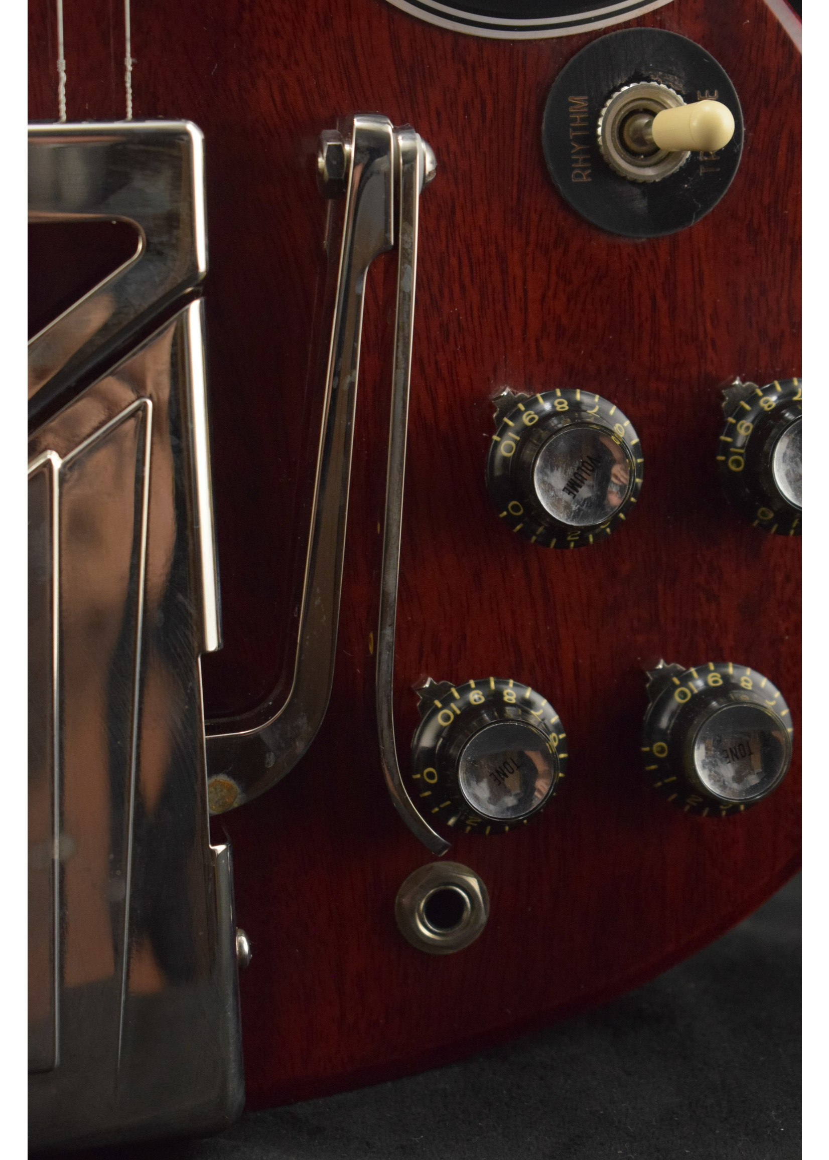 Gibson Gibson 60th Anniversary 1961 Les Paul SG Standard With Sideways Vibrola Cherry Red