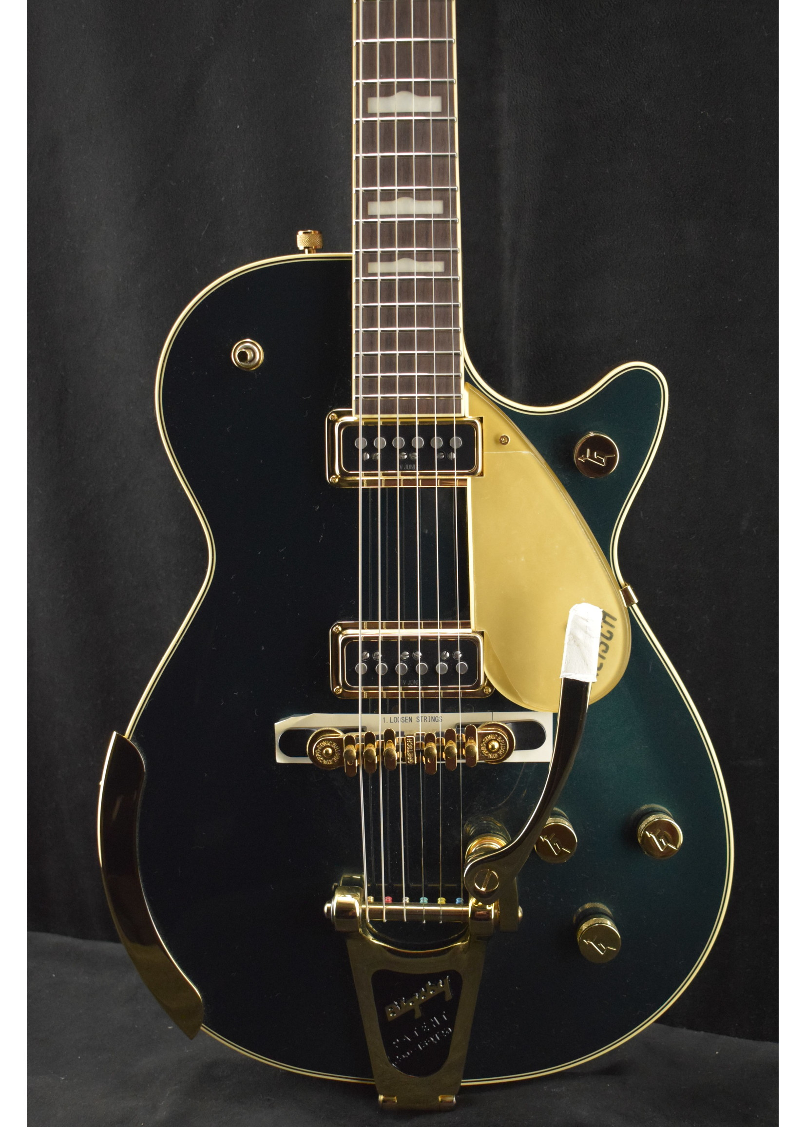 Gretsch Gretsch G6128T-57 Vintage Select '57 Duo Jet with Bigsby Cadillac Green