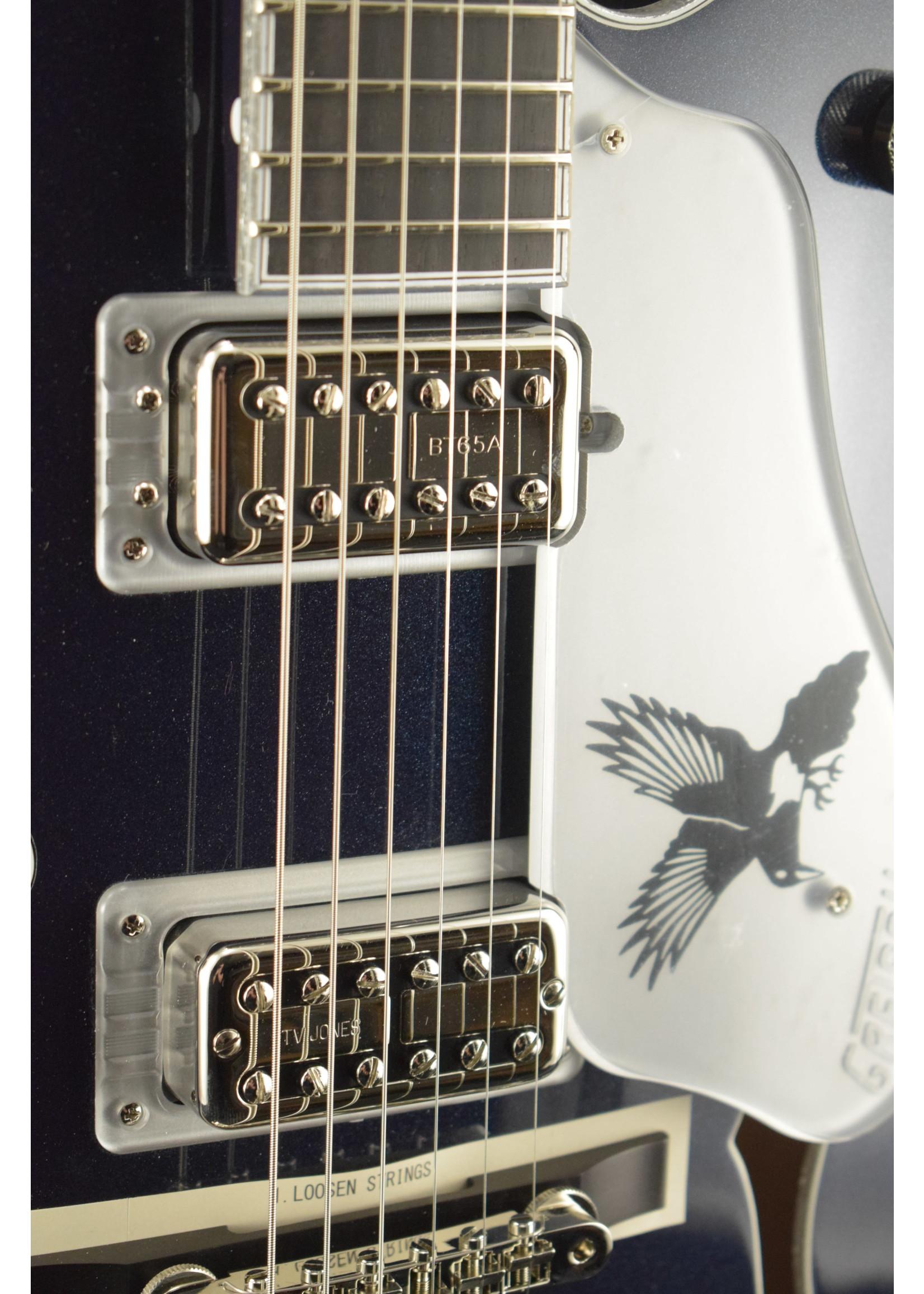 Gretsch Gretsch G6136T-RR Rich Robinson Signature Falcon Raven's Breast Blue
