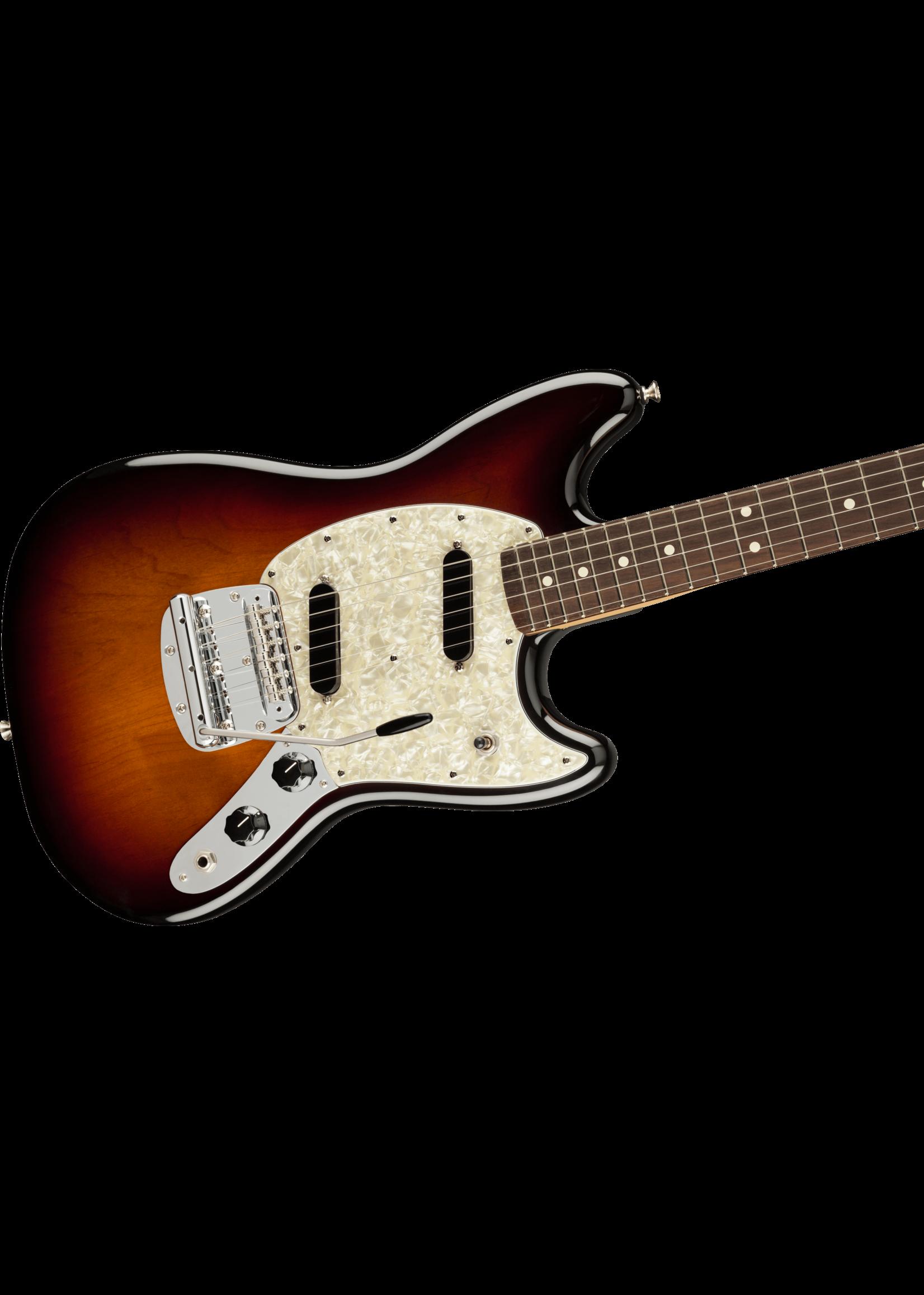 Fender Fender American Performer Mustang with Rosewood Fretboard 3-Tone Sunburst