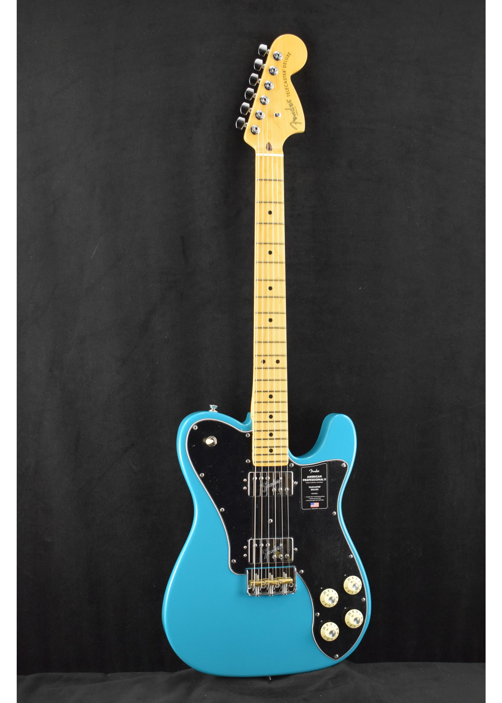 Fender Fender American Professional II Telecaster Deluxe with Maple Fretboard Miami Blue