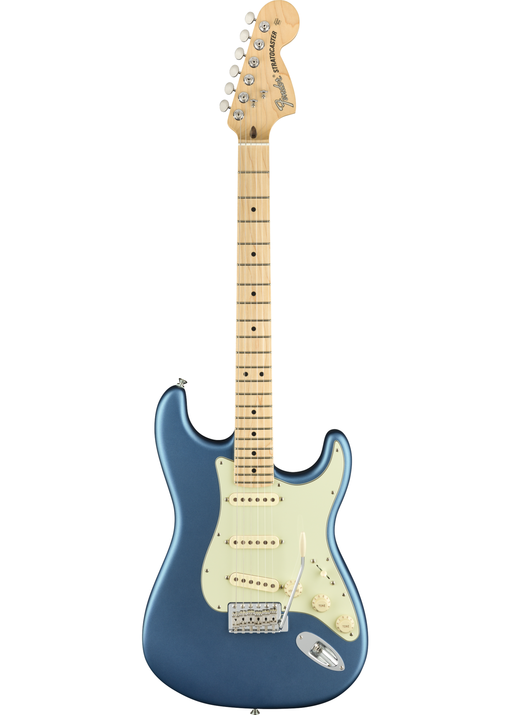 Fender Fender American Performer Stratocaster with Maple Fretboard Satin Lake Placid Blue