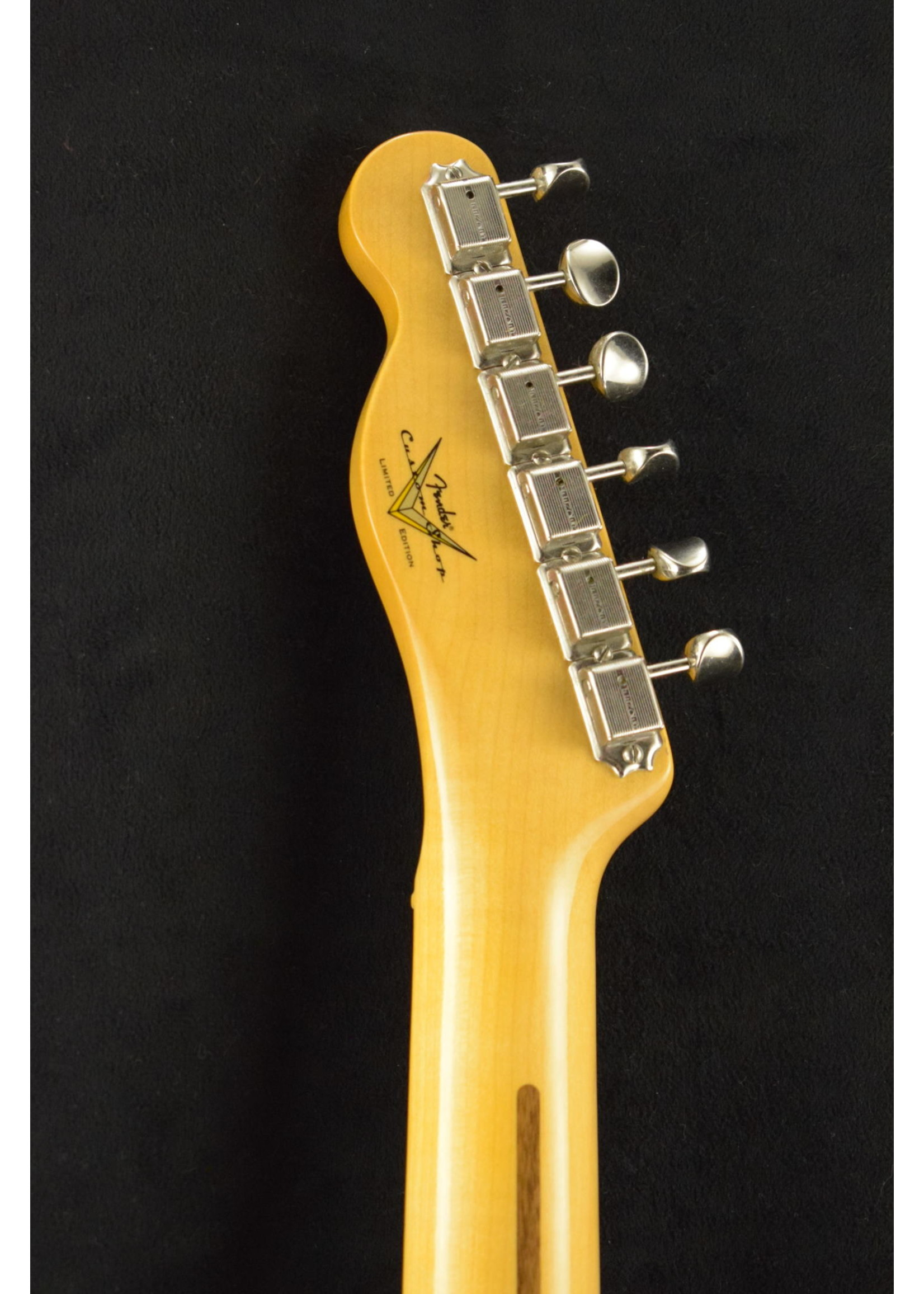 Fender Fender 70th Anniversary Broadcaster Time Capsule Finish Faded Nocaster Blonde
