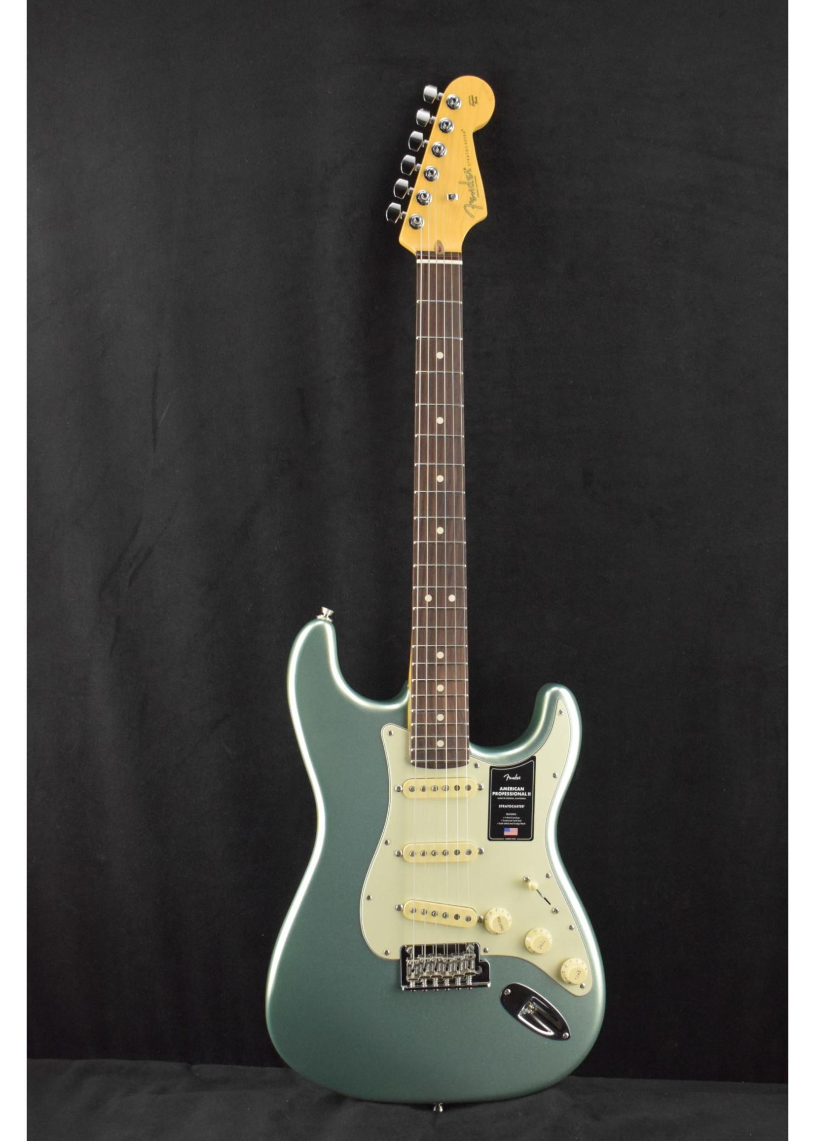 Fender Fender American Professional II Stratocaster Rosewood Fingerboard Mystic Surf Green