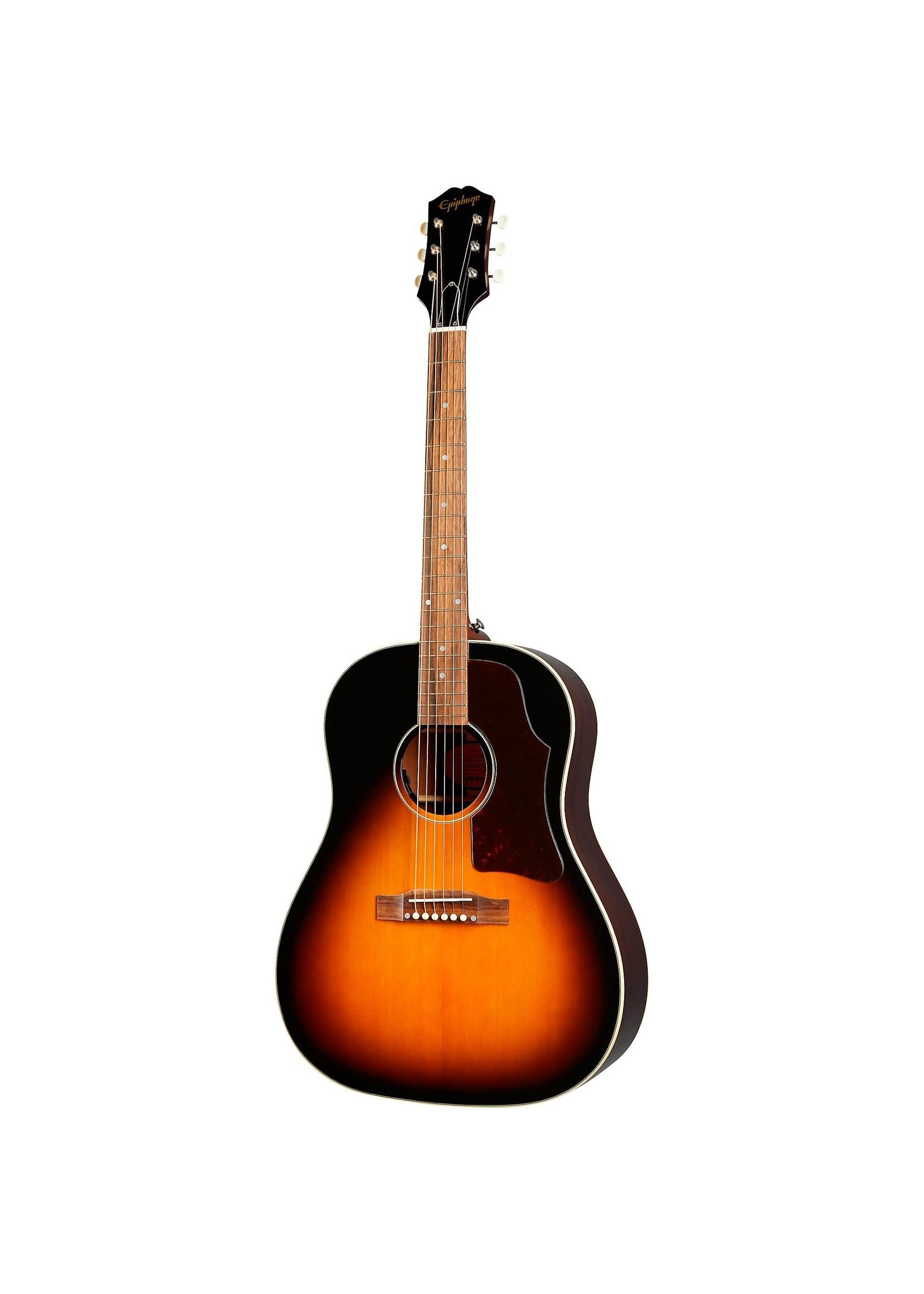 Epiphone Epiphone Masterbilt J-45 Acoustic Electric Guitar Aged Vintage Sunburst Gloss