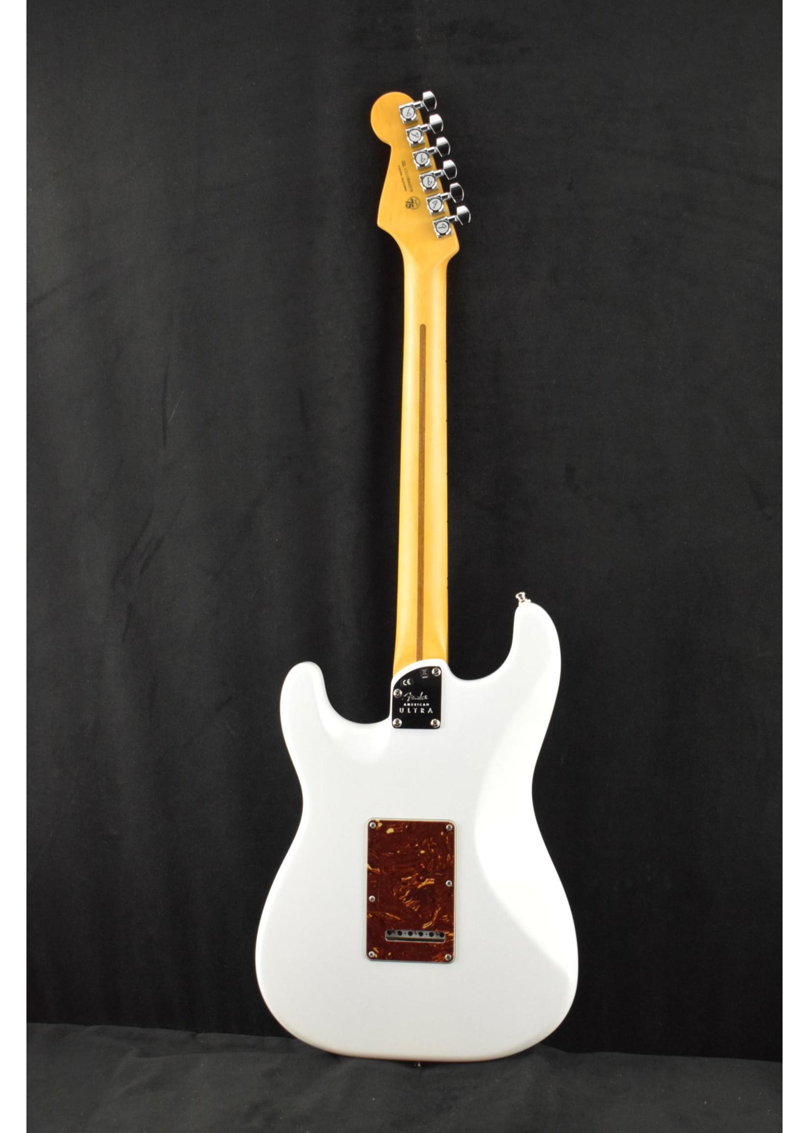 Fender Fender American Ultra Stratocaster HSS Maple Neck Arctic Pearl