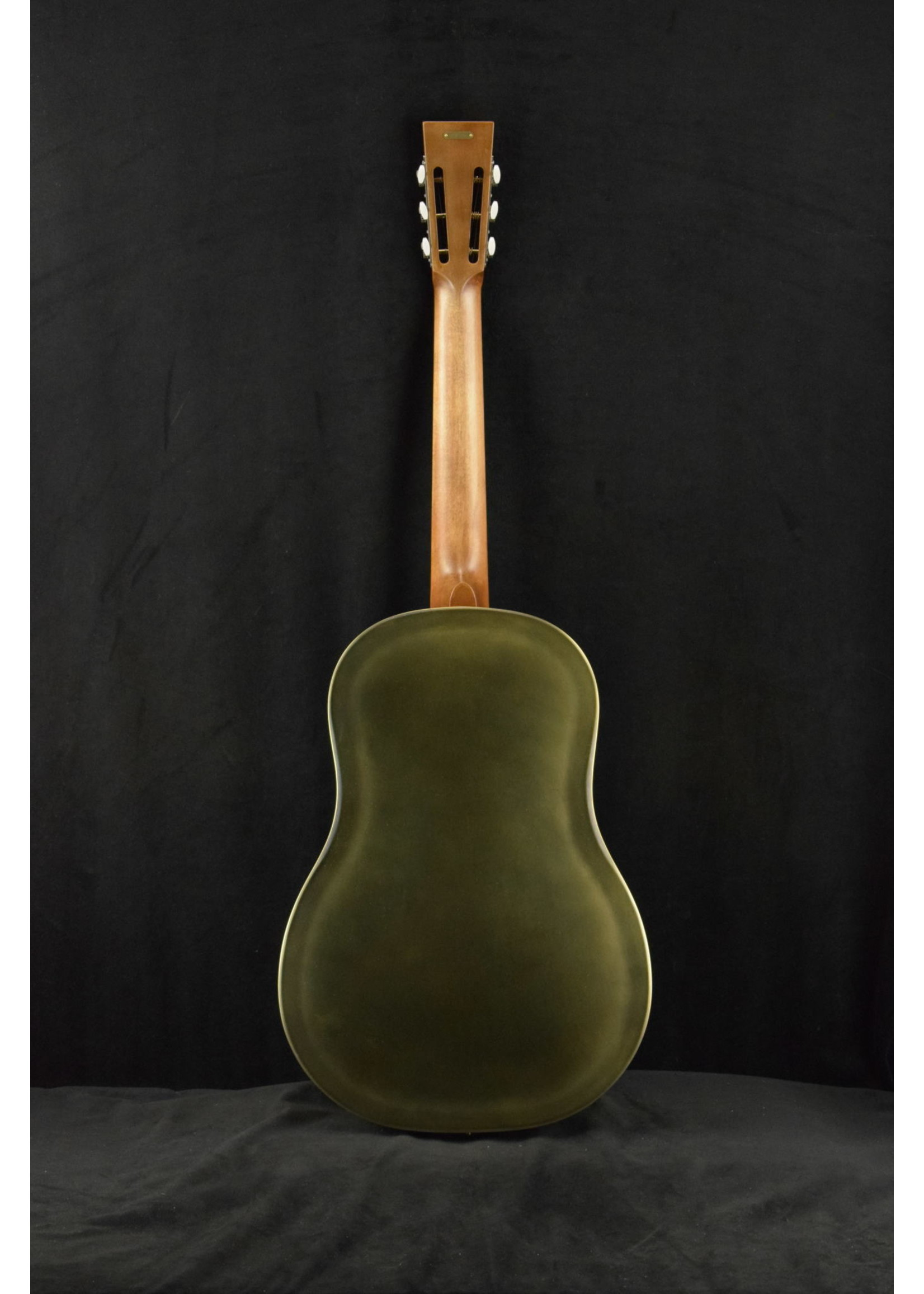 National National Raw Brass 12-Fret with Chicken Foot Cover Plate
