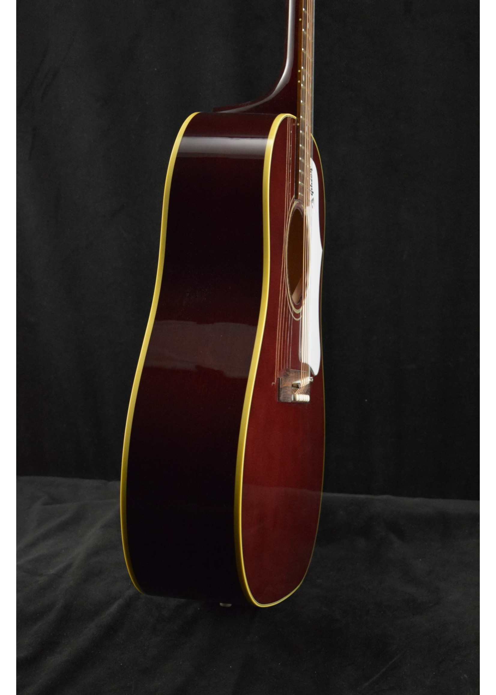 Gibson Gibson 60s J-45 Original Adjustable Saddle (No Pickup) Wine Red