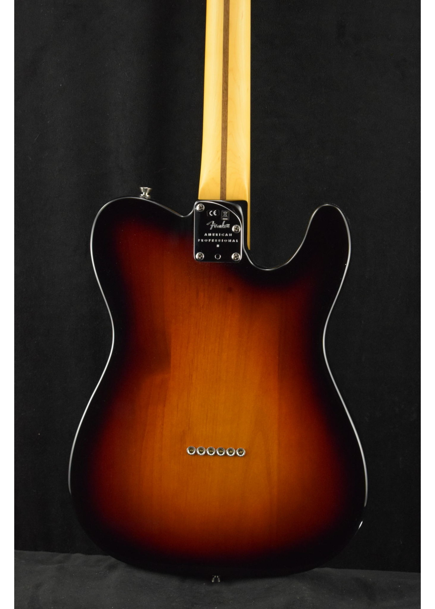Fender Fender American Professional II Telecaster Left-Hand 3-Color Sunburst