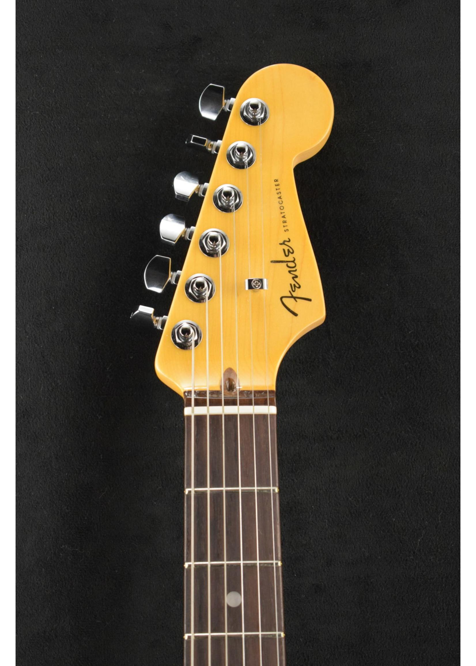 Fender Fender American Ultra Stratocaster Arctic Pearl Rosewood Fretboard