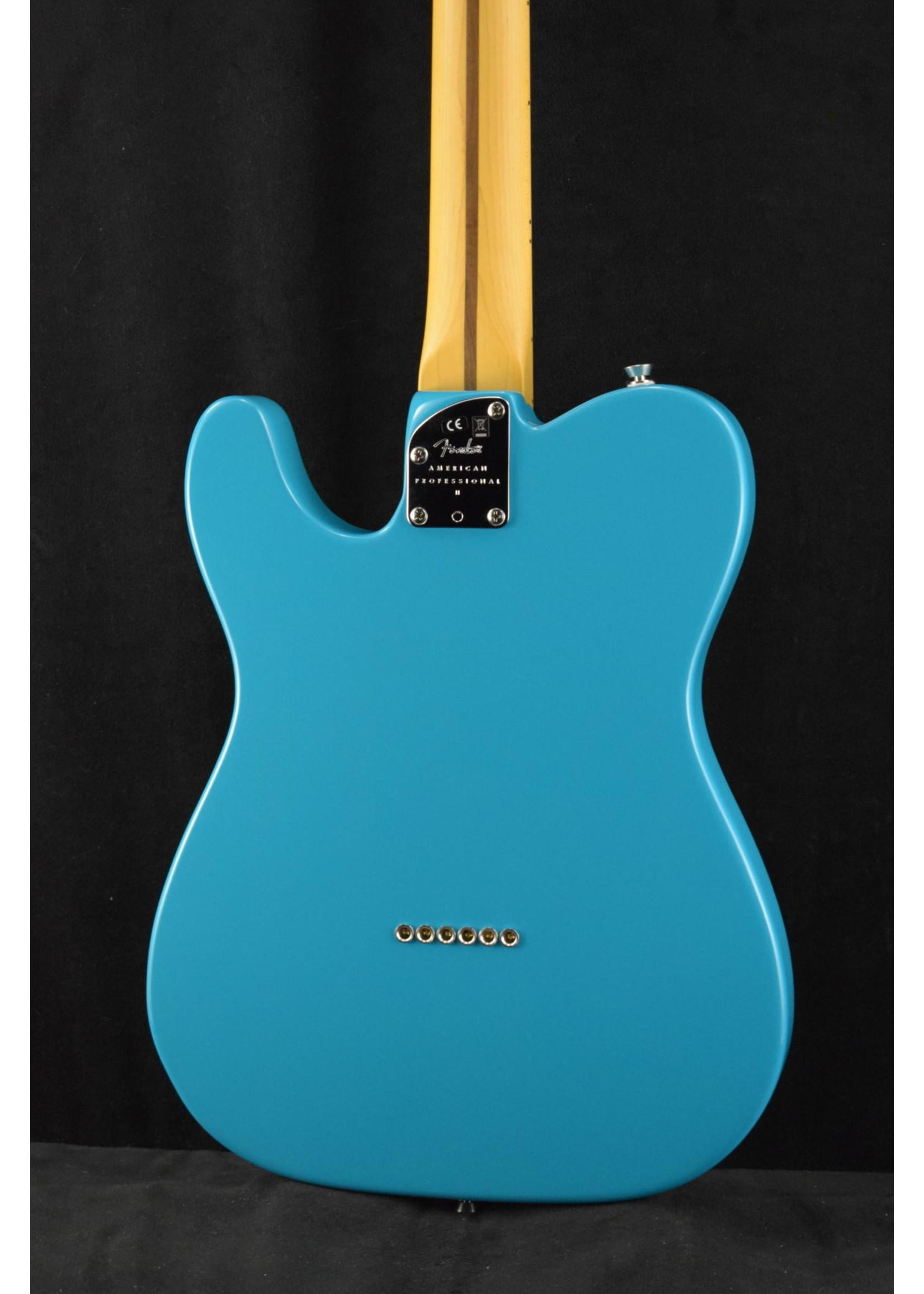 Fender Fender American Professional II Telecaster Maple Fingerboard Miami Blue