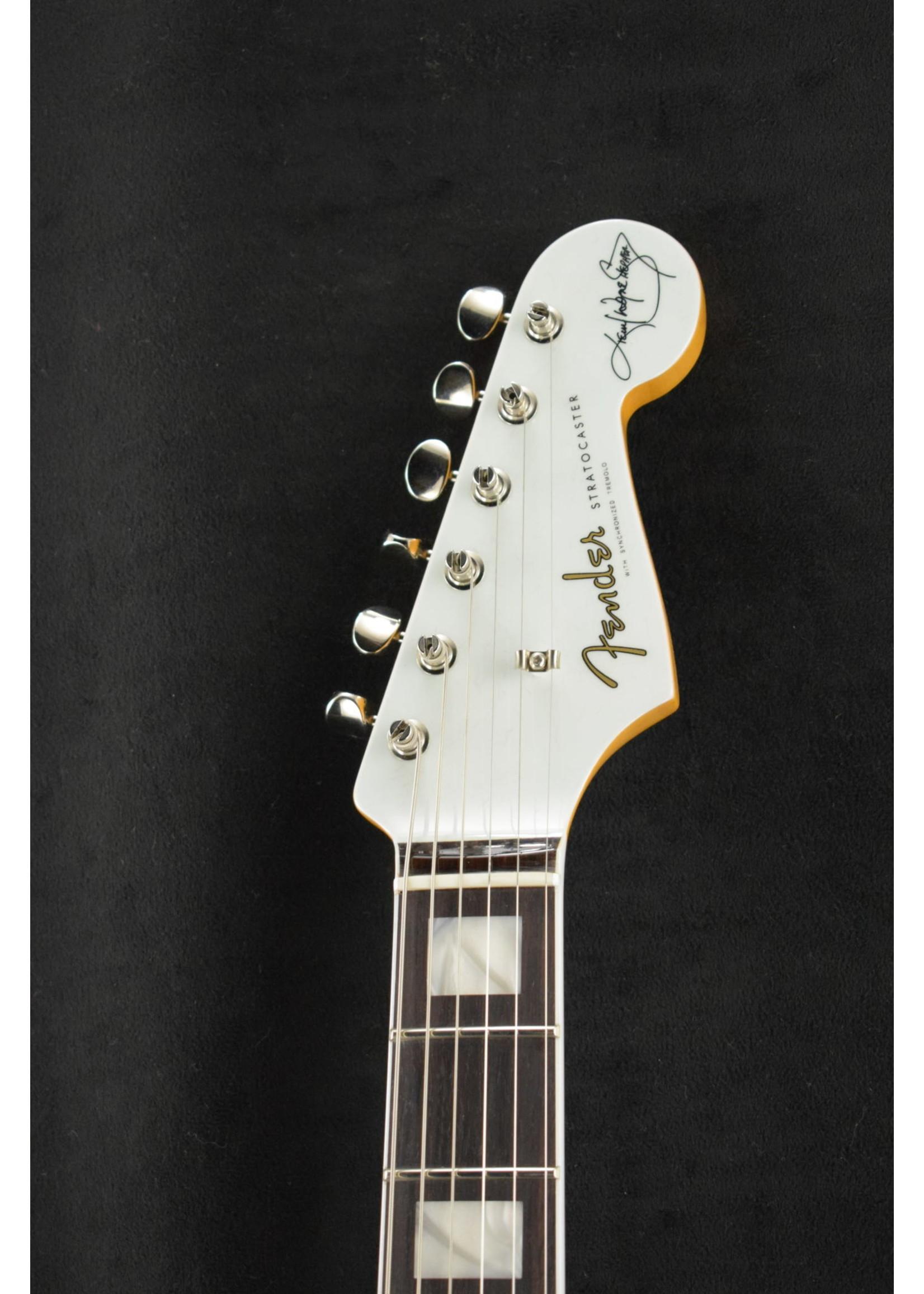 Fender Fender Kenny Wayne Shepherd Stratocaster Transparent Faded Sonic Blue