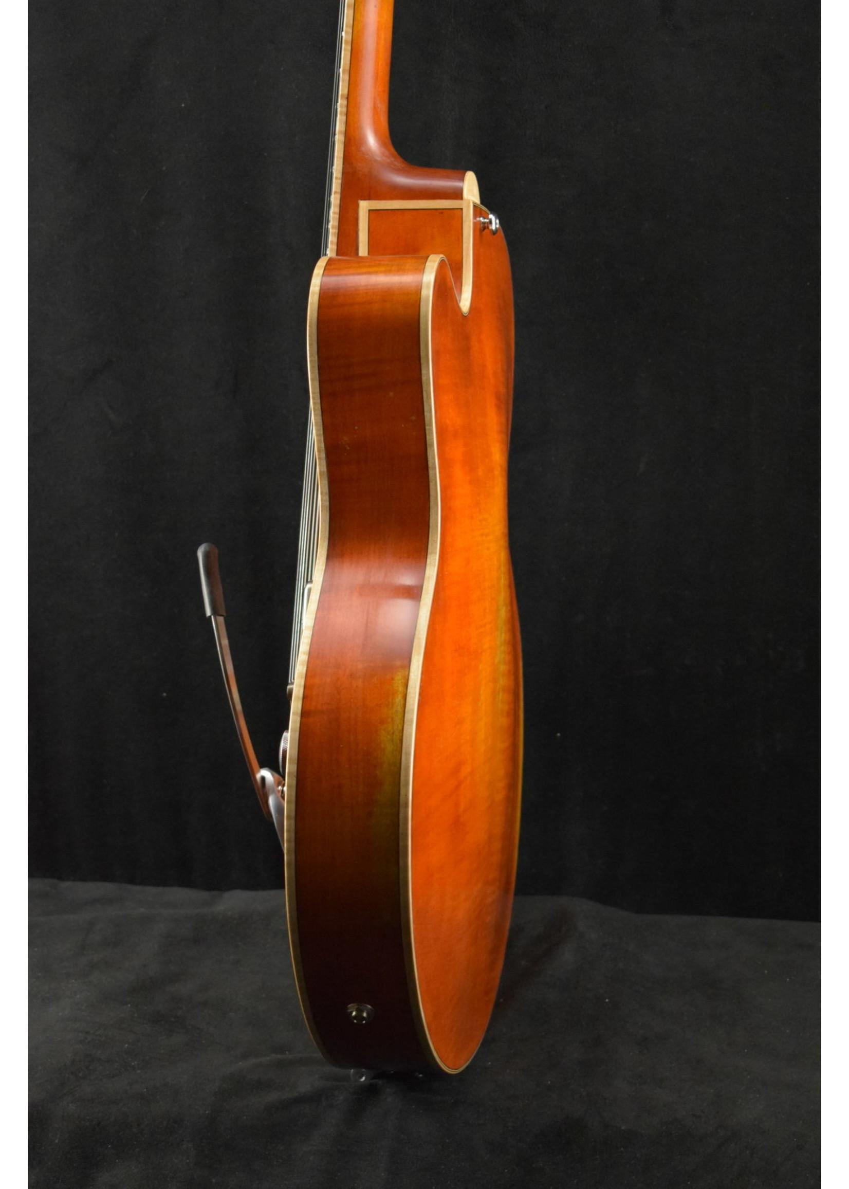 Eastman Eastman T58/V-AMB Archtop Antique Amber Varnish Finish