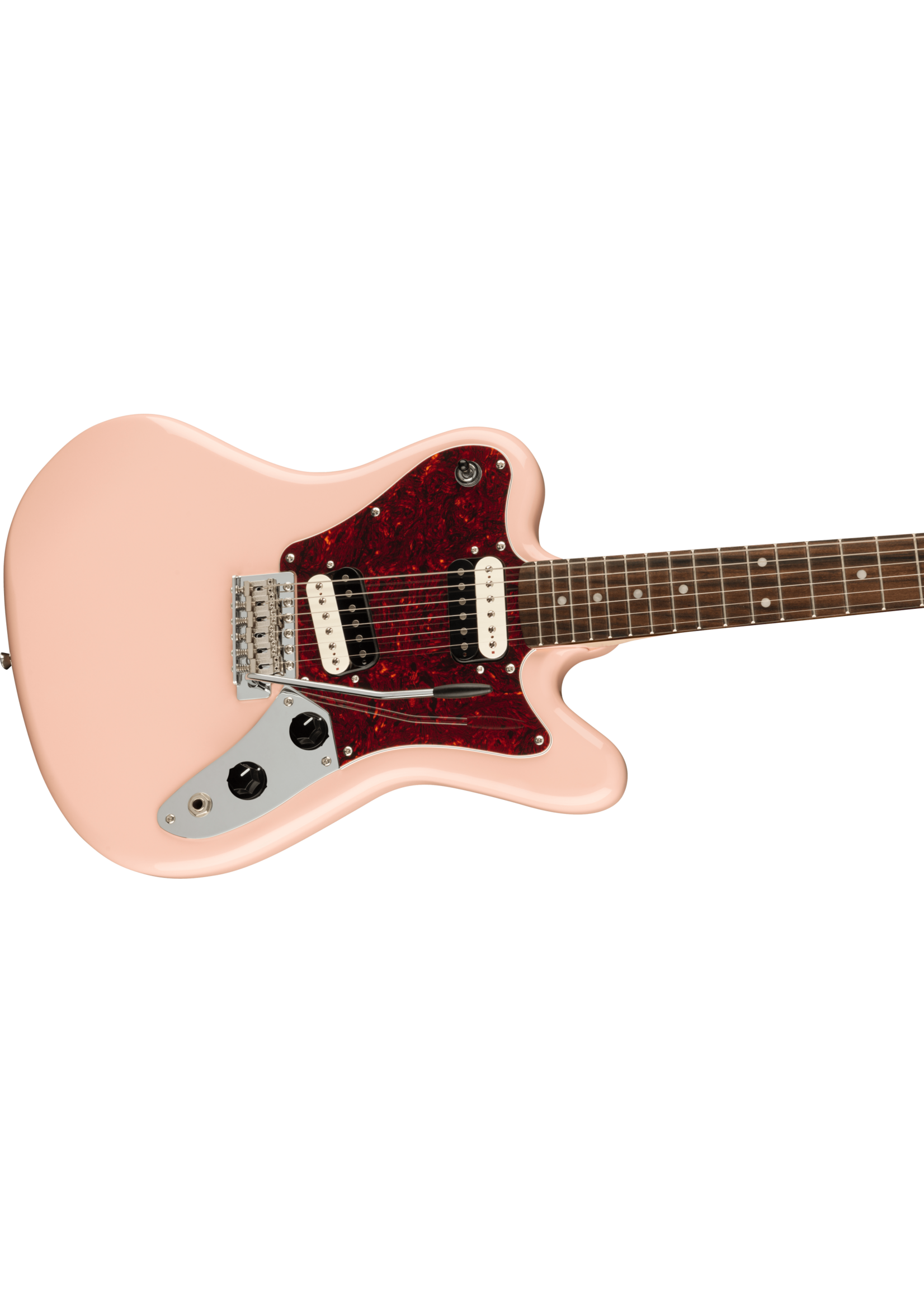 Squier Squier Paranormal Super-Sonic Shell Pink
