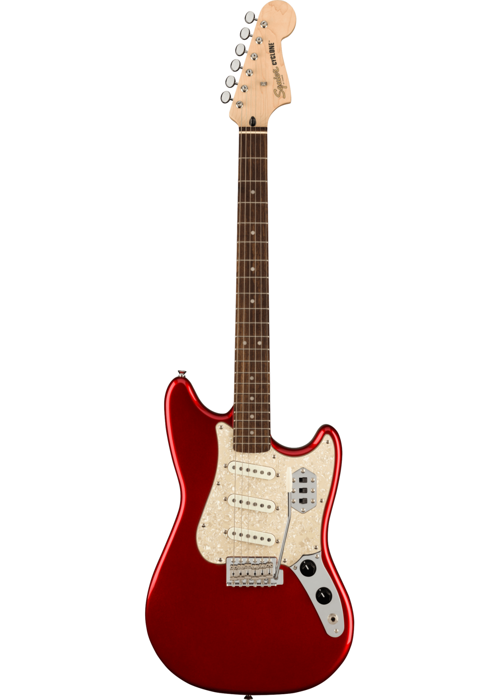 Squier Squier Paranormal Cyclone Candy Apple Red