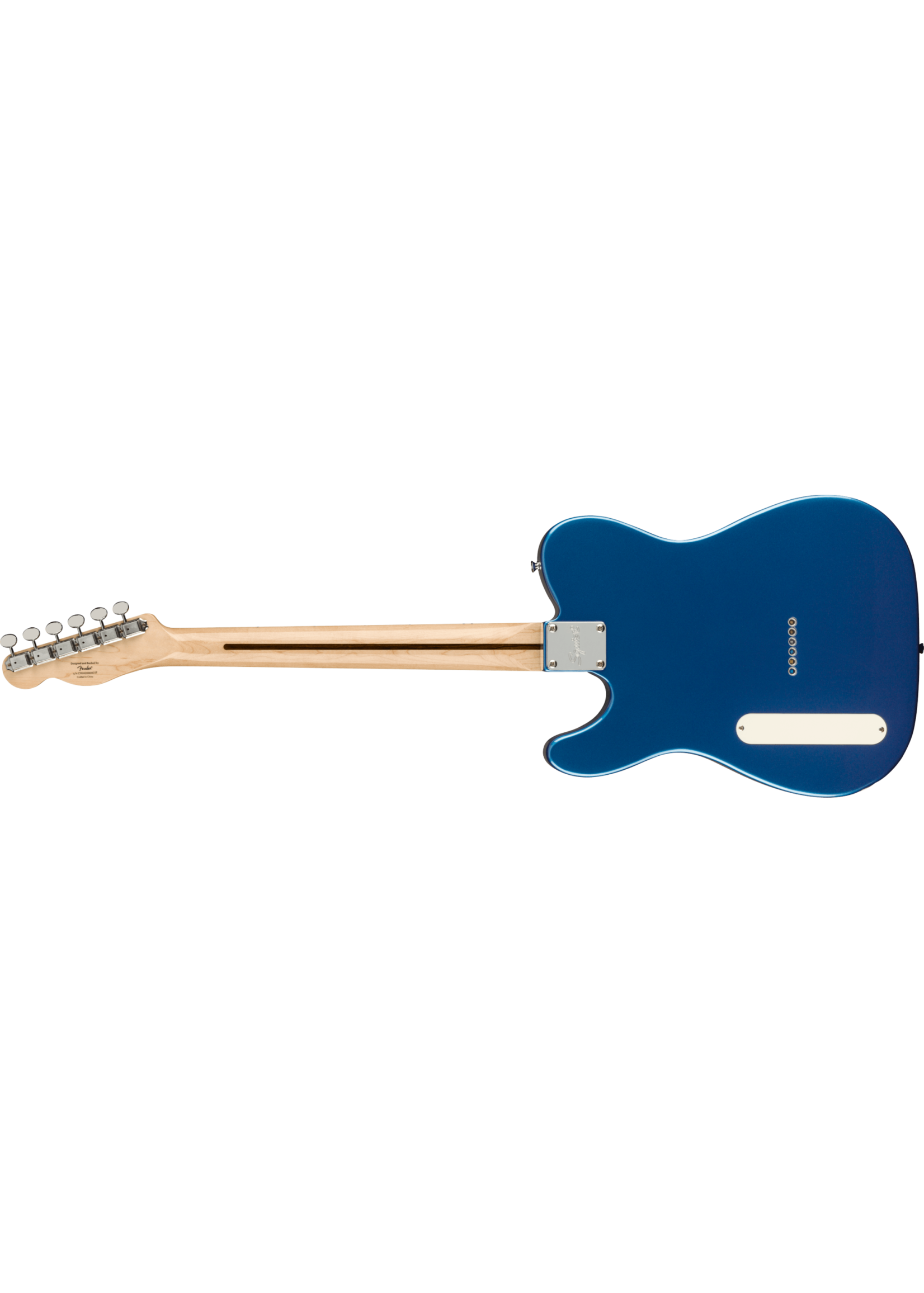 Squier Squier Paranormal Cabronita Telecaster Thinline  Lake Placid Blue