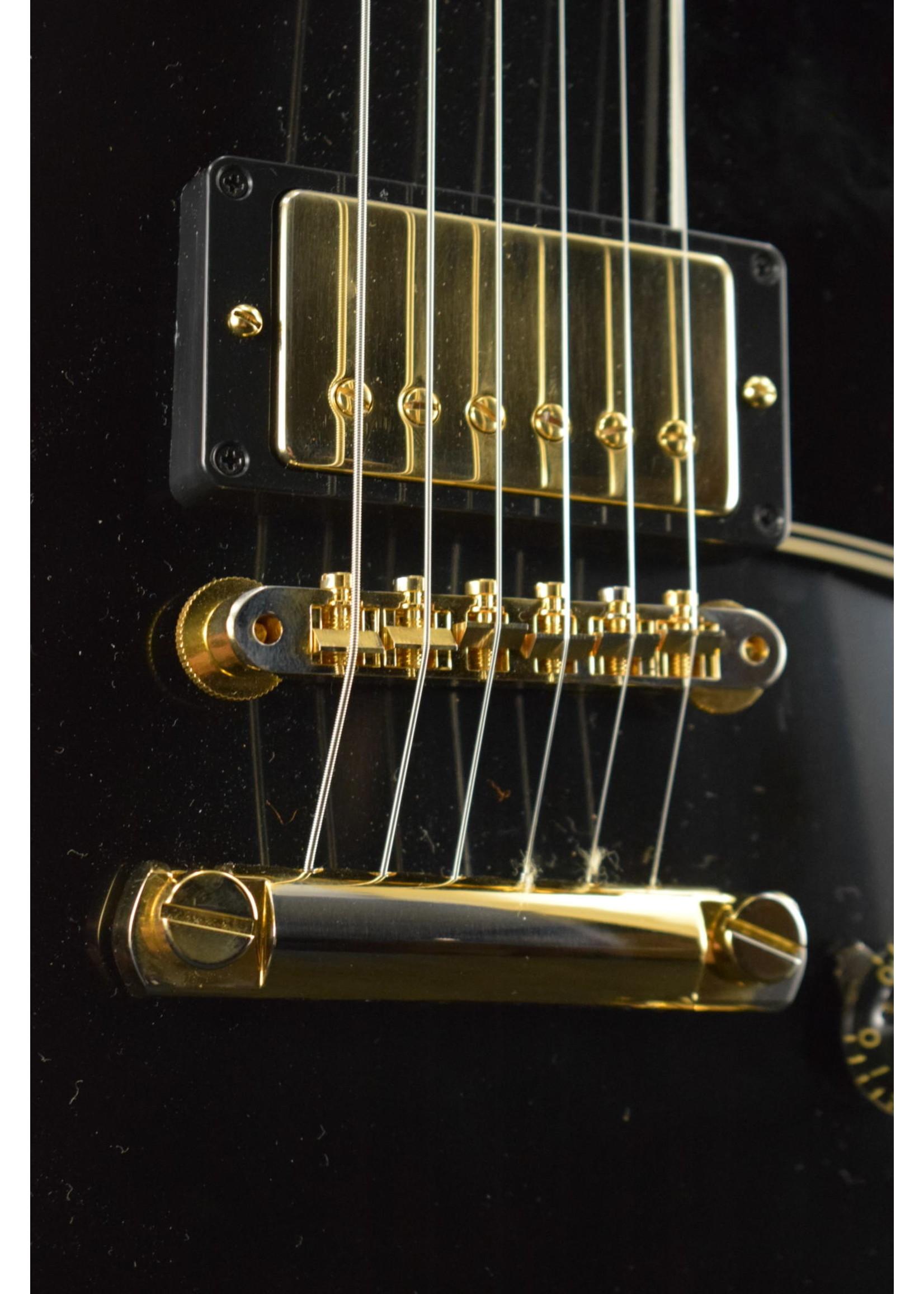 Gibson Gibson Custom 1957 Les Paul Custom Reissue VOS - Ebony 2-Pickup