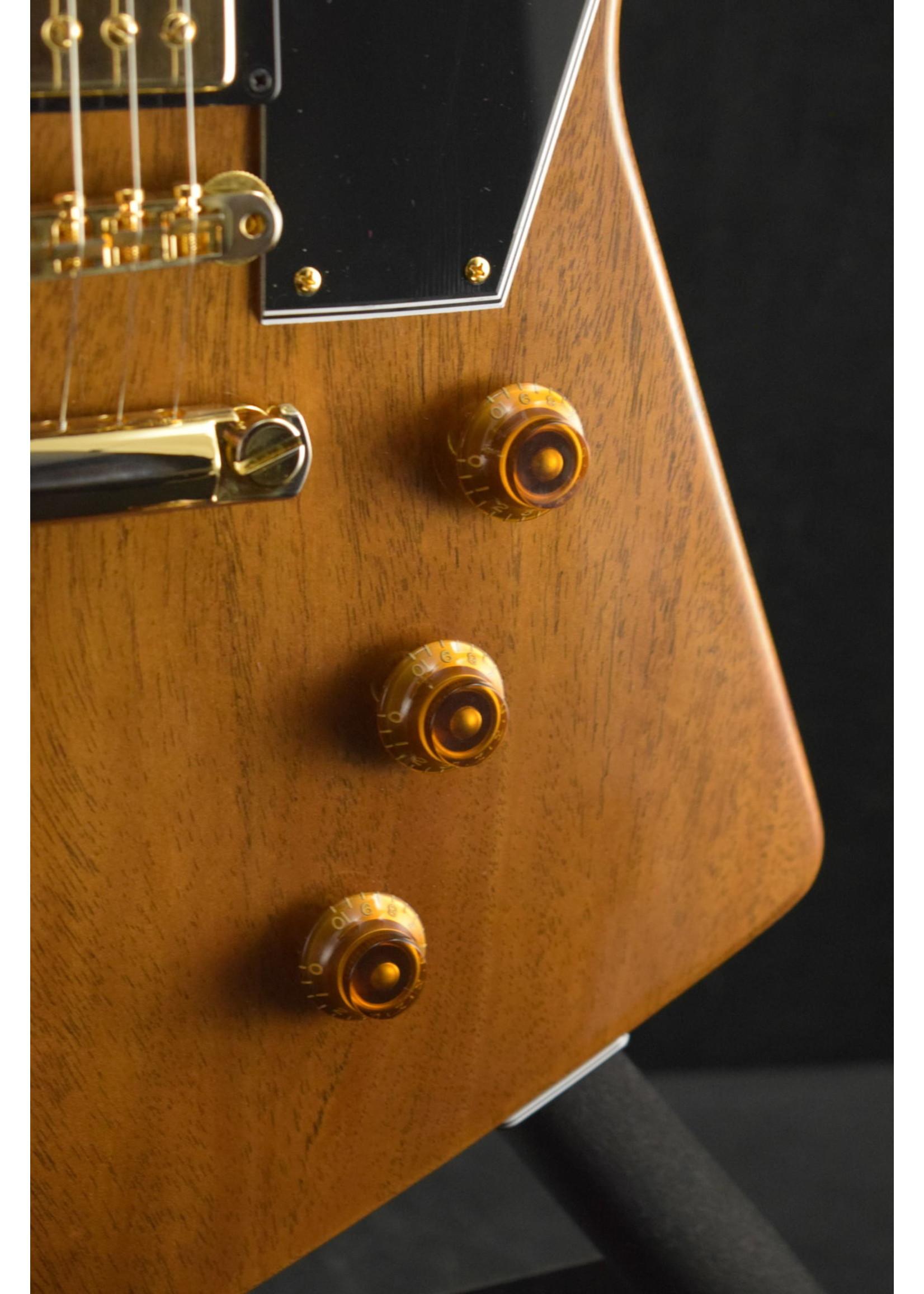 Gibson Gibson Custom 1958 Mahogany Explorer Reissue VOS - Walnut Finish