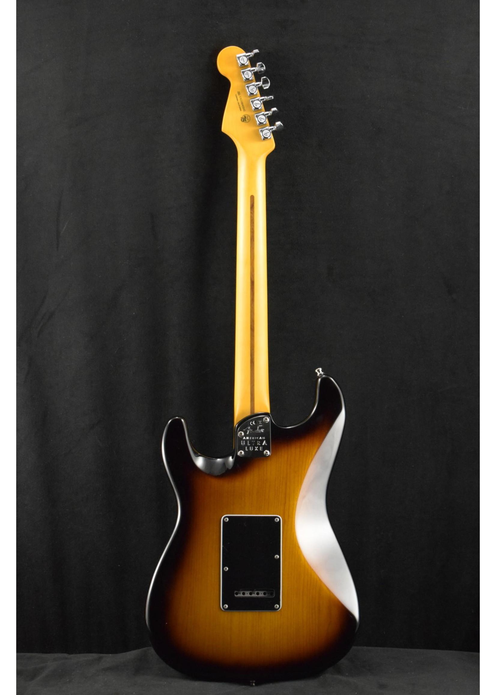 Fender Fender American Ultra Luxe Stratocaster 2-Color Sunburst