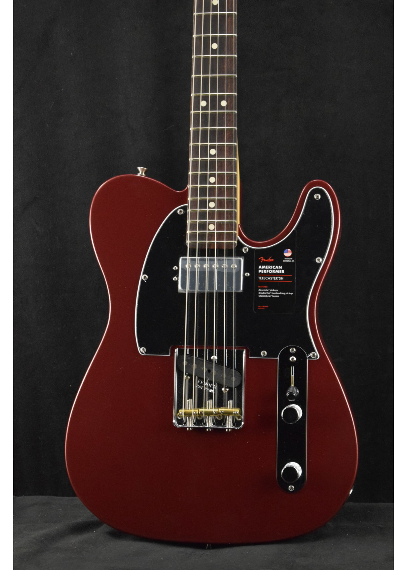 Fender Fender American Performer Telecaster with Humbucking Pickup Aubergine