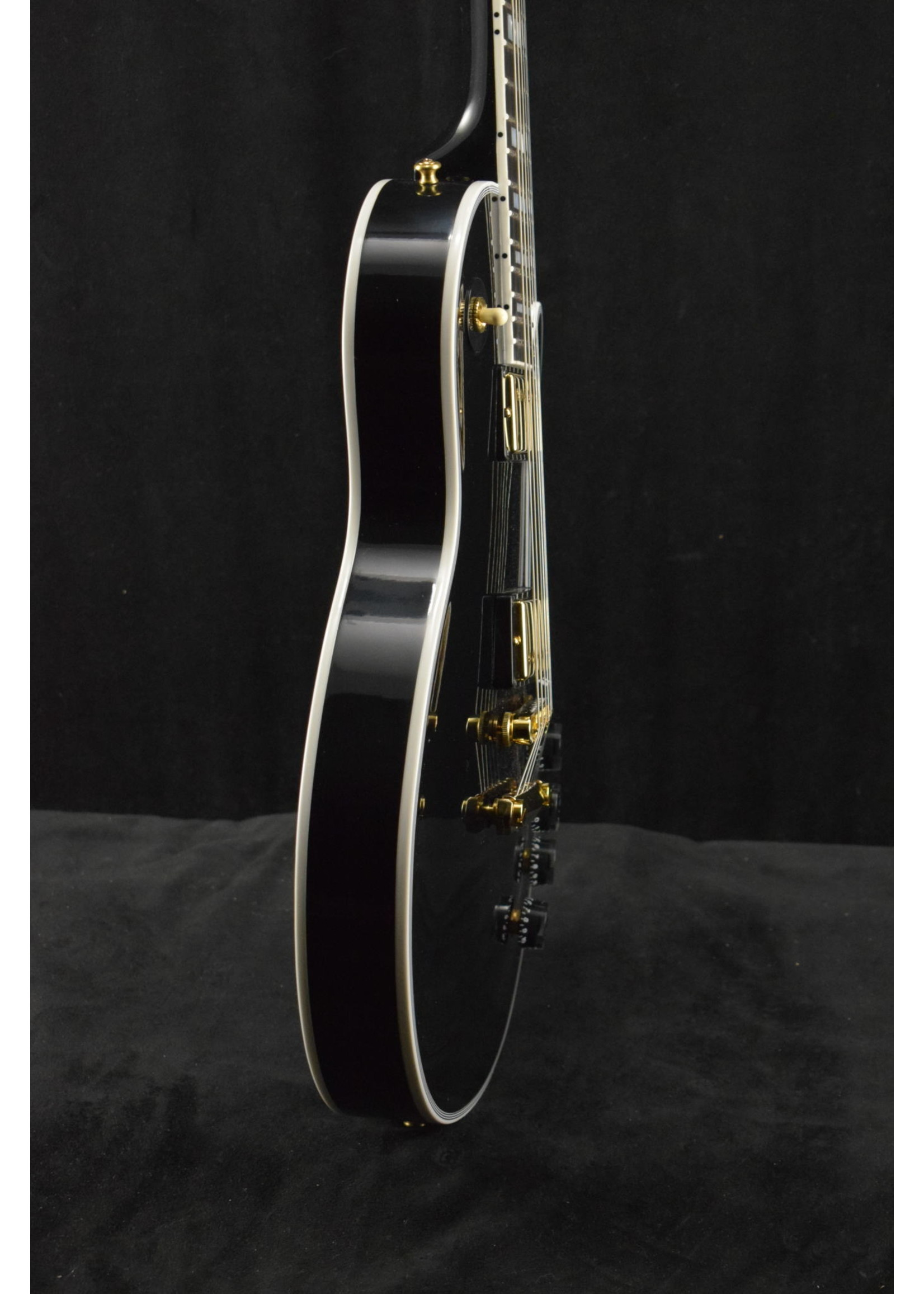 Gibson Gibson Custom Shop Les Paul Custom w/Ebony Fingerboard Gloss Ebony Finish