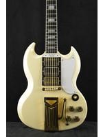 Gibson Gibson 60th Anniversary 1961 Les Paul SG Custom With Sideways Vibrola Polaris White