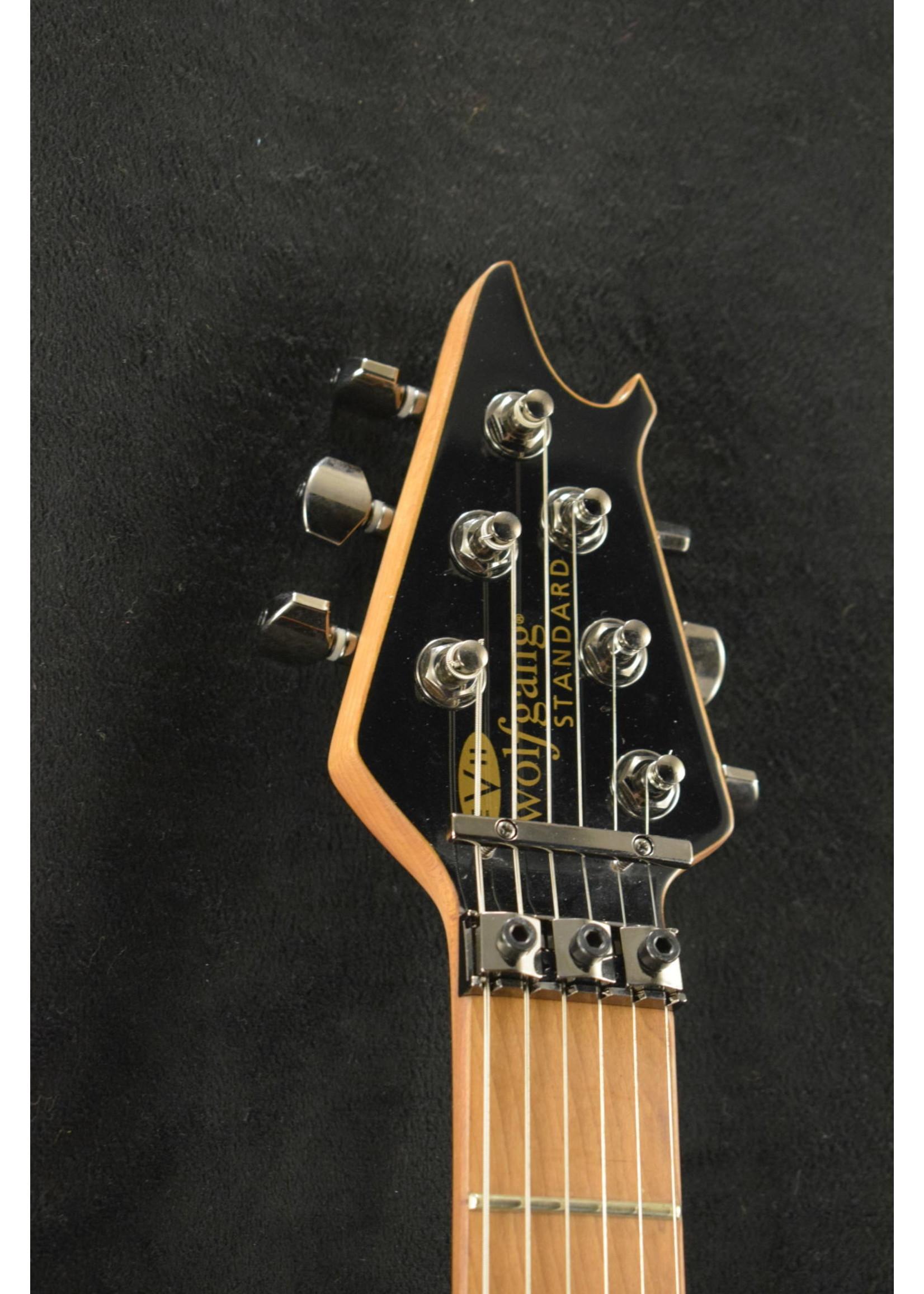 EVH EVH Wolfgang WG Standard Exotic Ziricote Baked Maple Fingerboard Natural