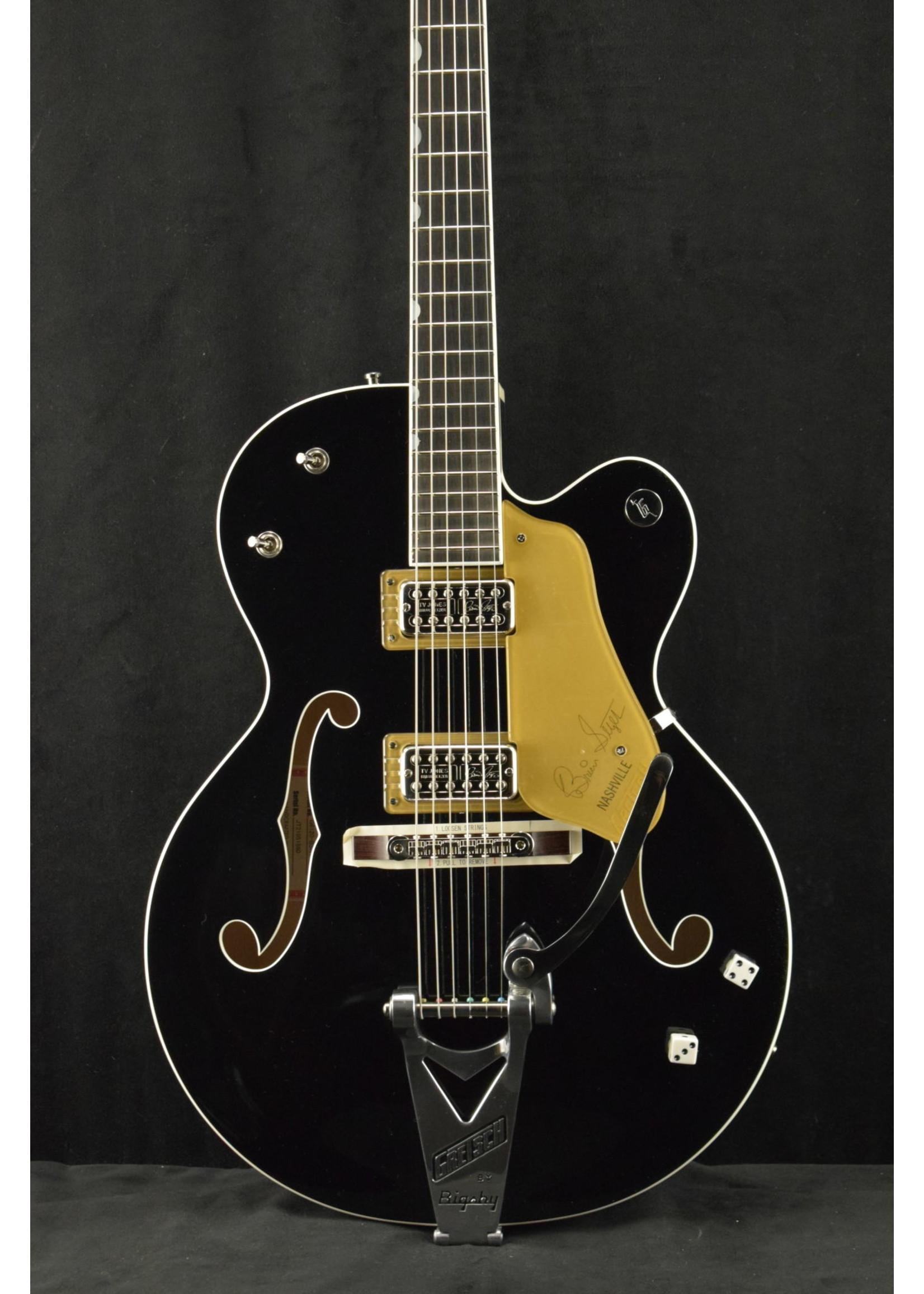 Gretsch Gretsch G6120T-BSNSH Brian Setzer Signature Nashville with Bigsby Black Lacquer