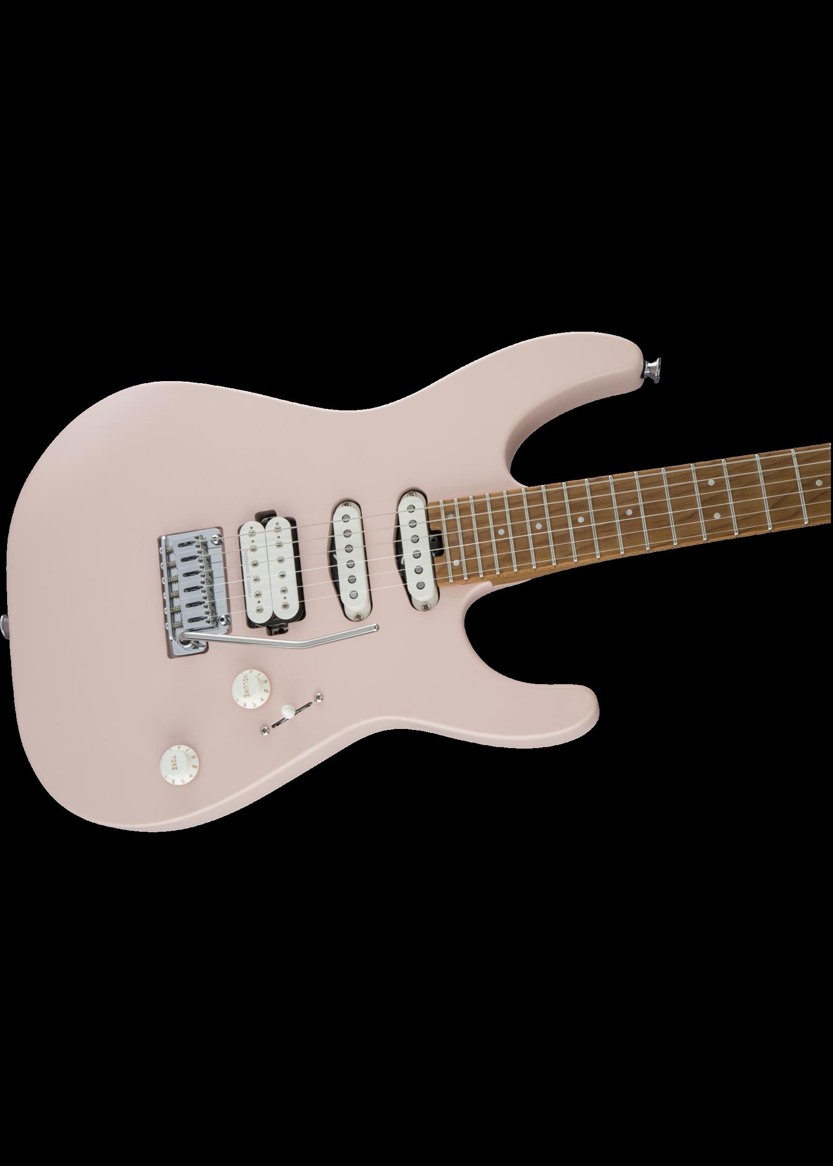 Charvel Charvel Pro-Mod DK24 HSS 2PT CM Caramelized Maple Fingerboard Satin Shell Pink