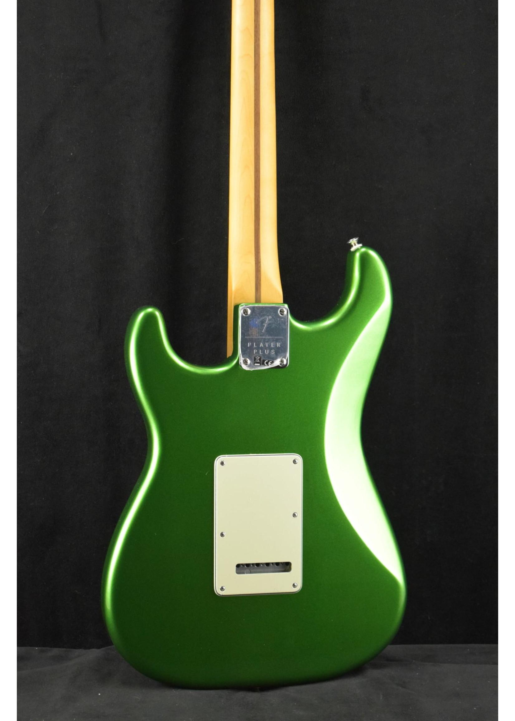 Fender Fender Player Plus Stratocaster HSS Maple Fingerboard Cosmic Jade