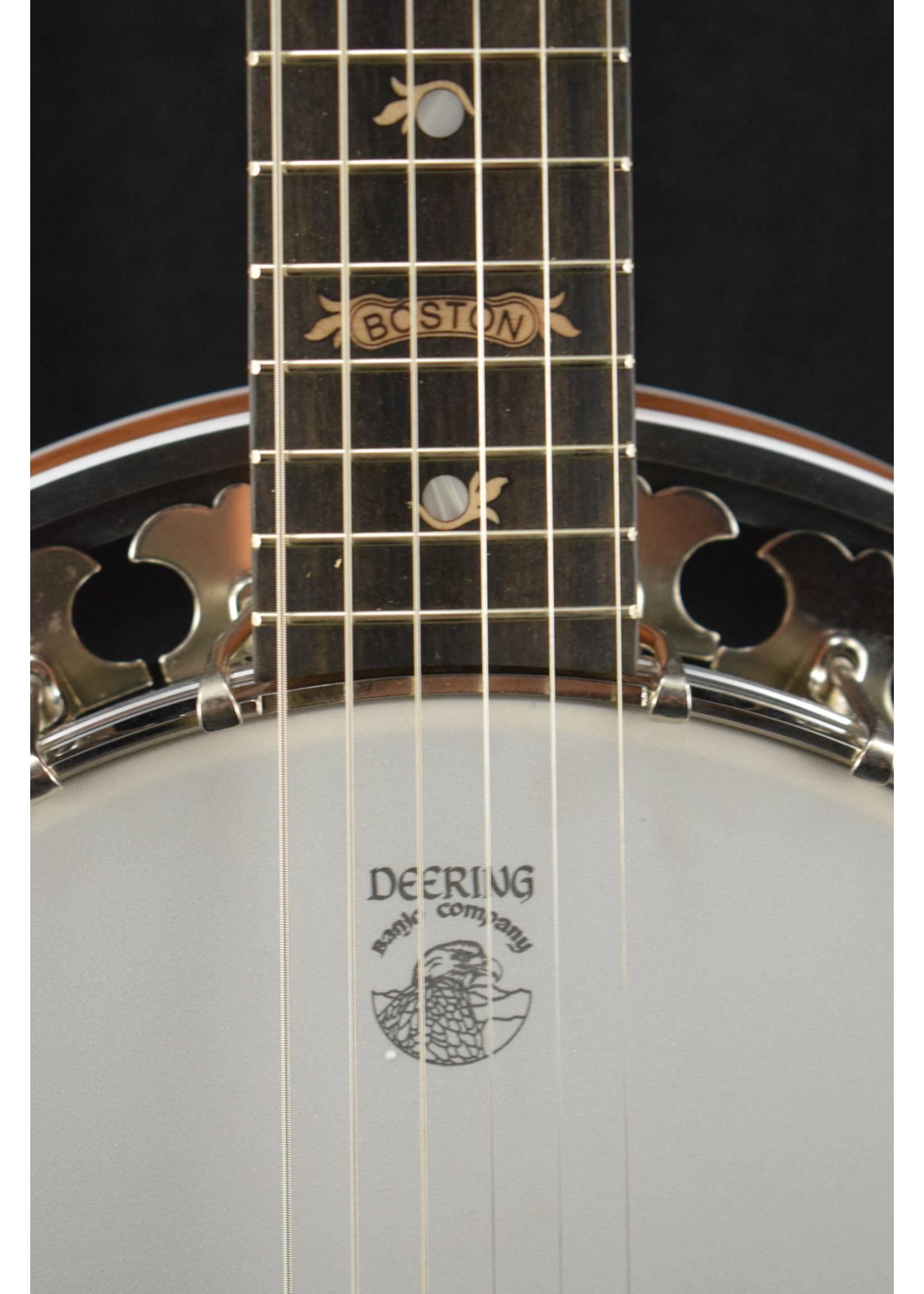 Deering Deering Flagship Series B-6 Boston 6-String Mahogany Banjo