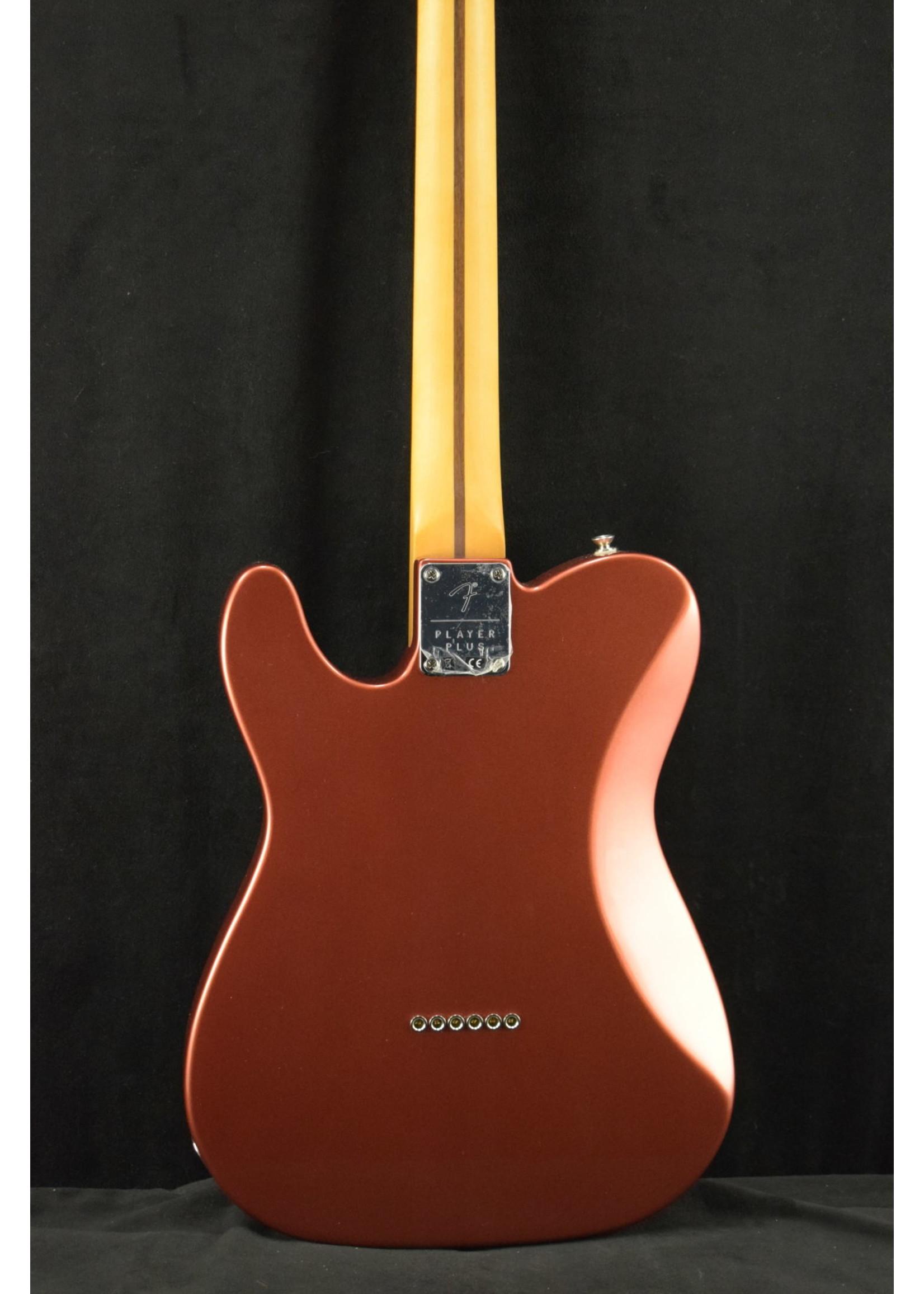 Fender Fender Player Plus Nashville Telecaster Pau Ferro Fingerboard Aged Candy Apple Red