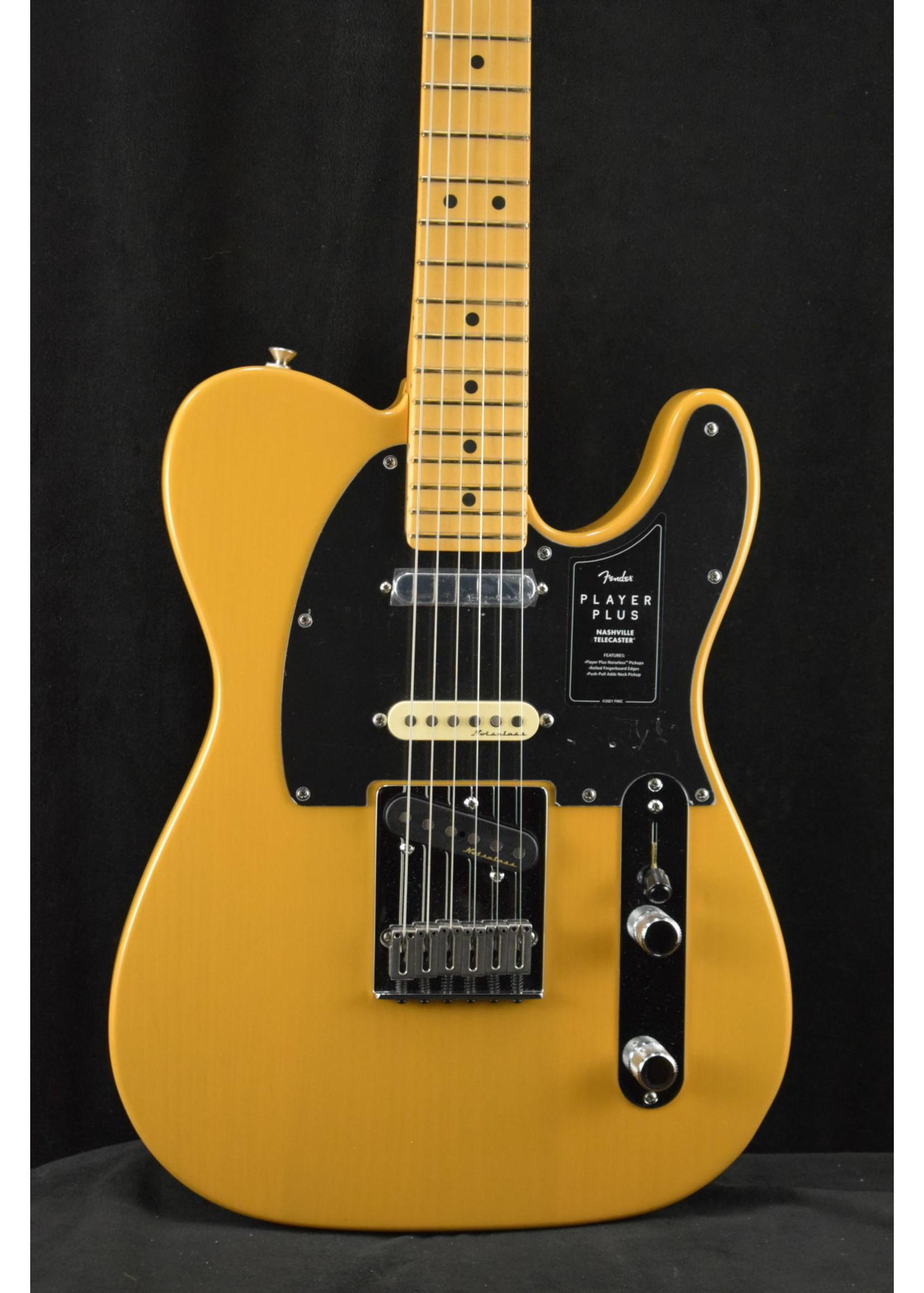 Fender Fender Player Plus Nashville Telecaster Maple Fingerboard Butterscotch Blonde